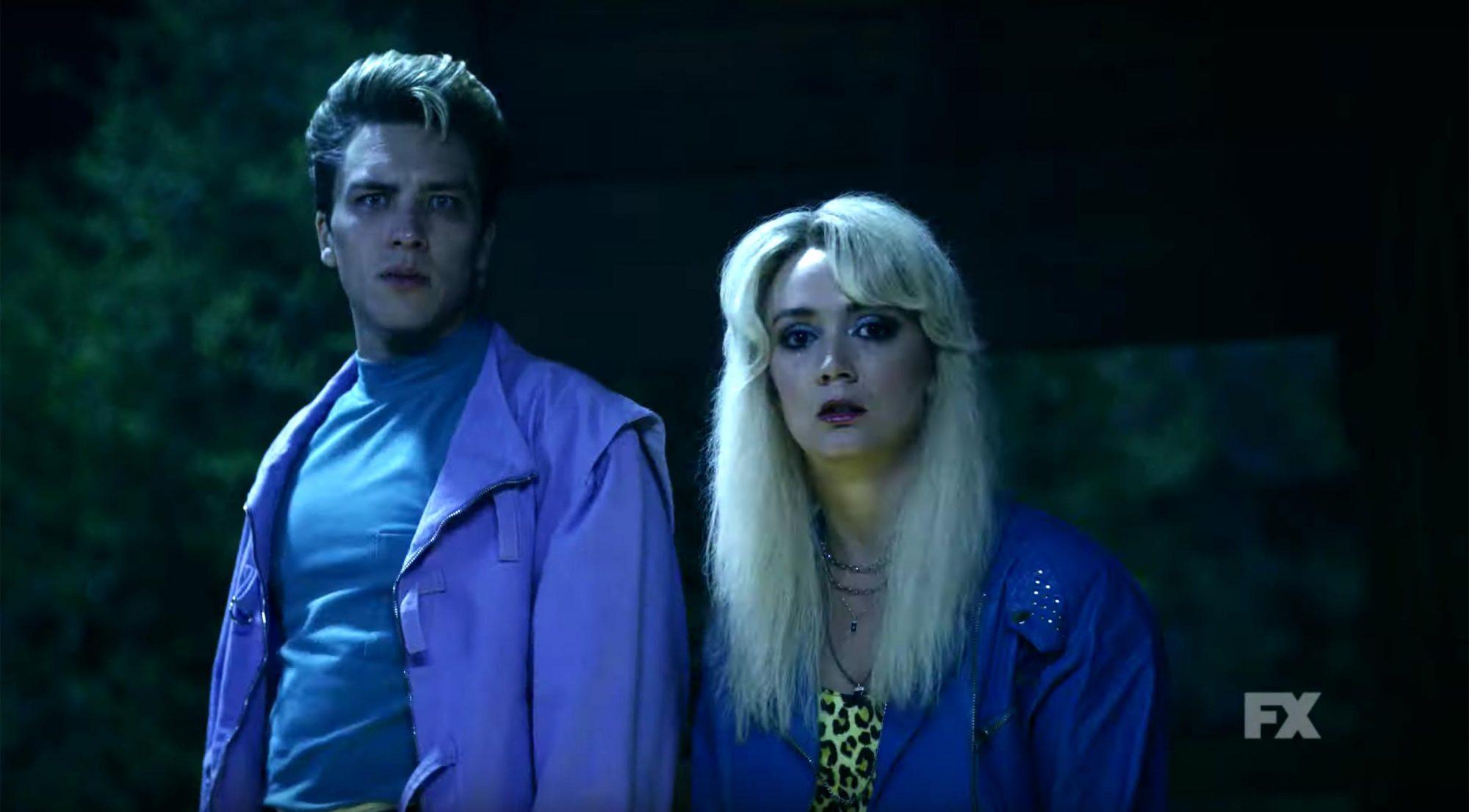 American Horror Story: 1984 | Season 9 Ep. 3: Slashdance Preview | FX (screen grab) https://www.youtube.com/watch?v=CvcXAiidMiw CR: FX