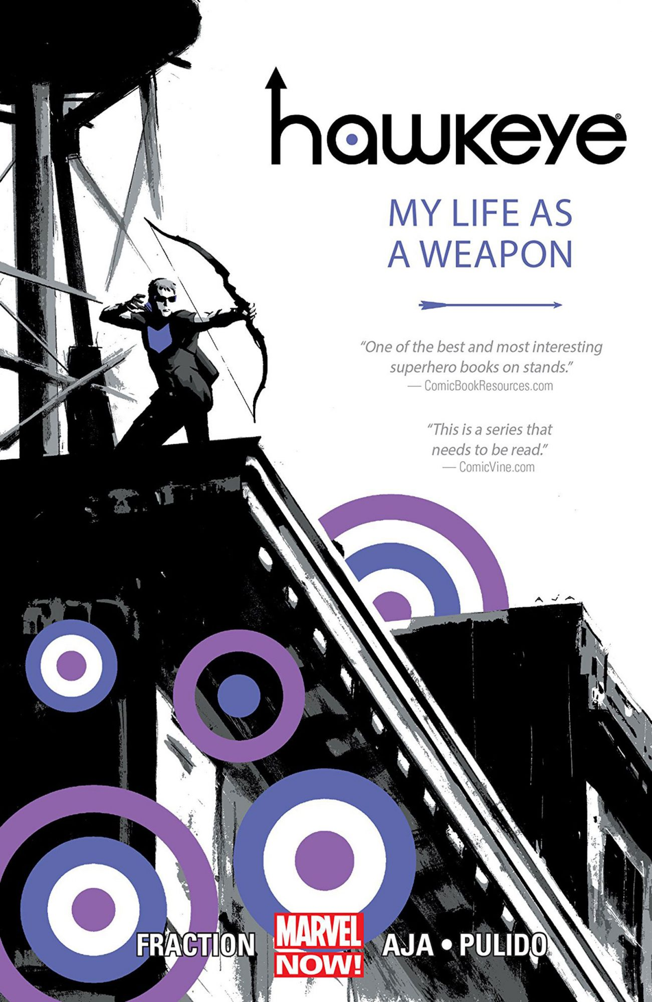 Hawkeye My Life as a Weapon