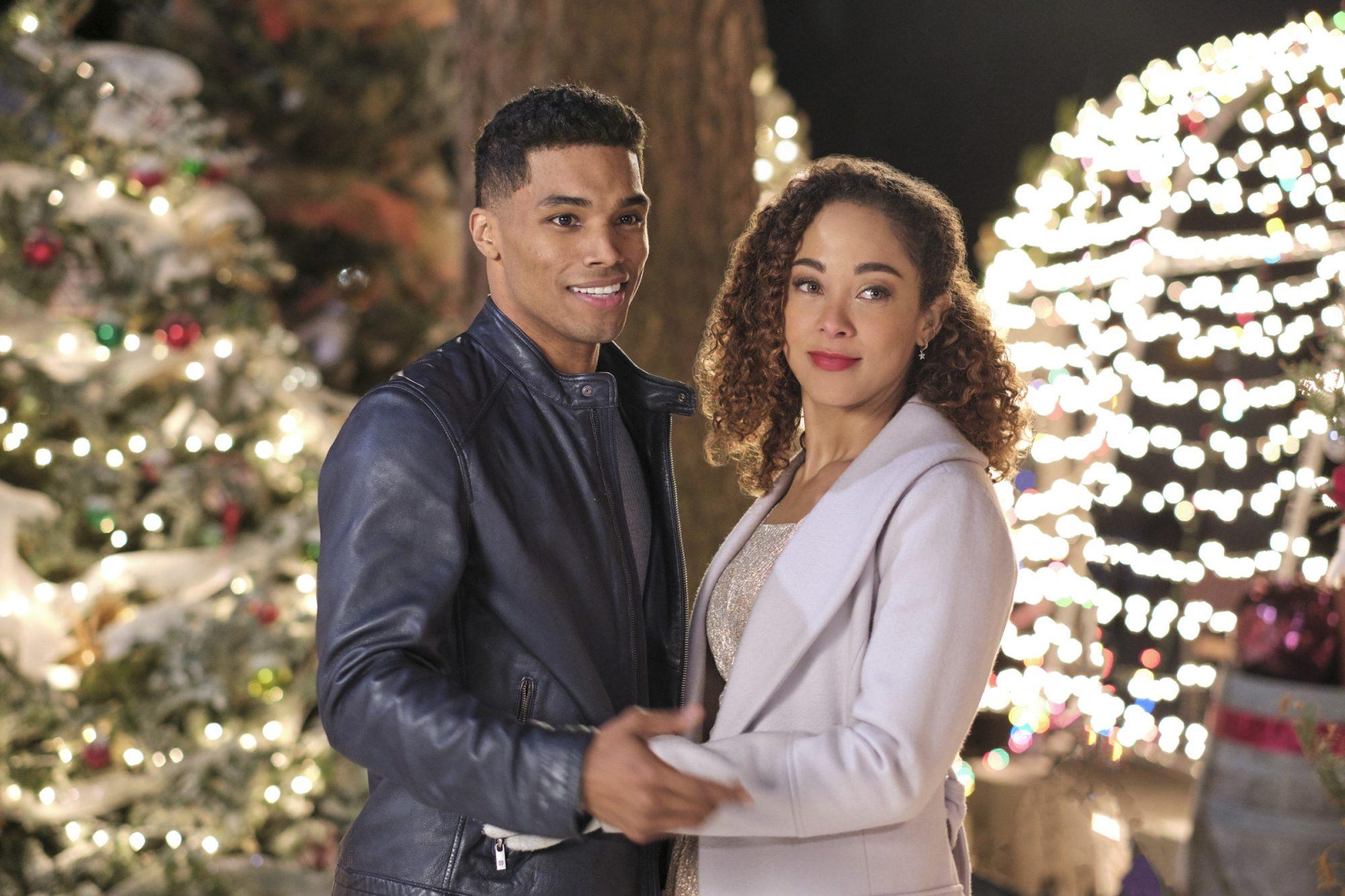 A Christmas DuetRome Flynn and Chaley Rose  CR: David Dolsen/Crown Media
