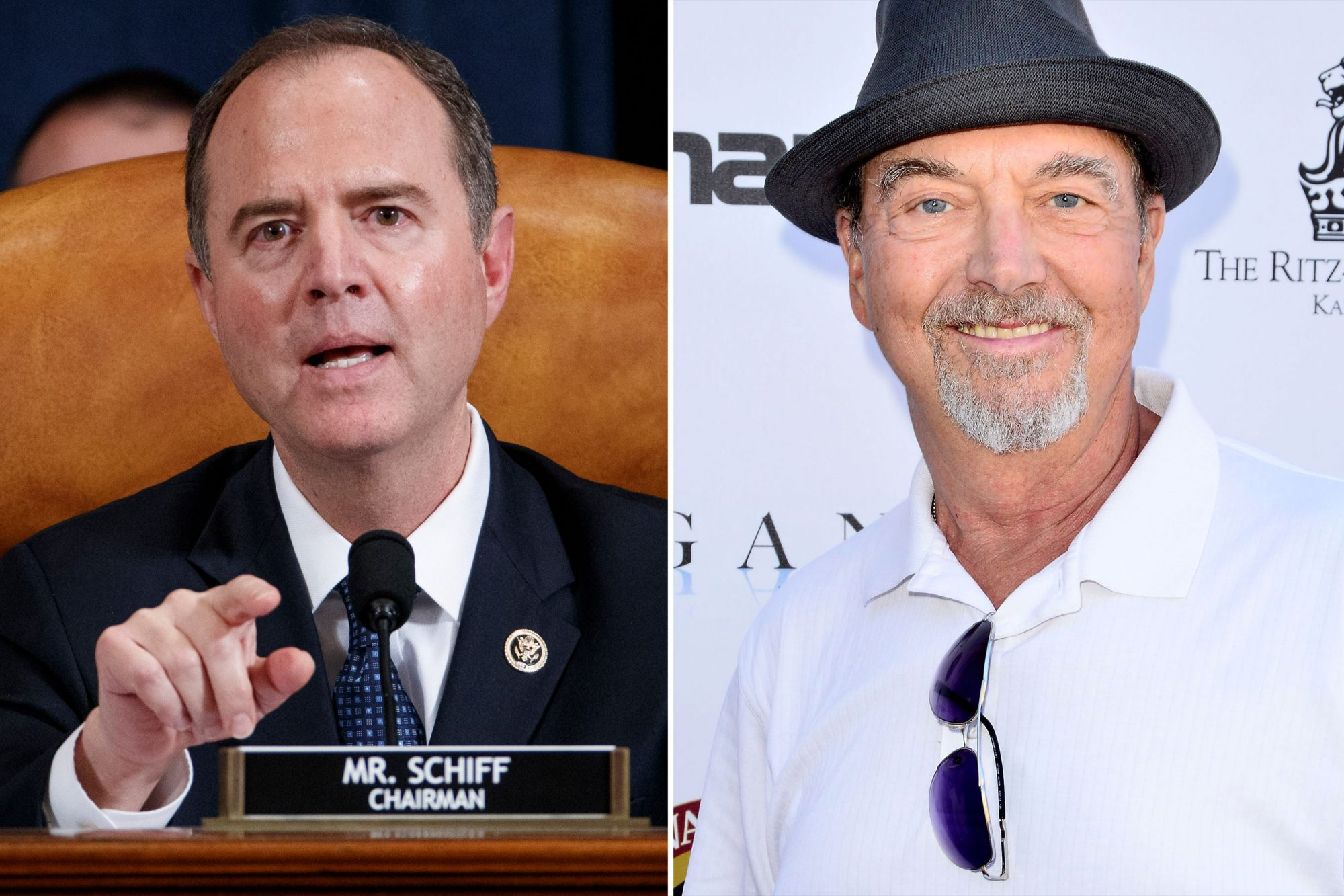 U.S. Rep. Adam Schiff, played by Gregory Itzin