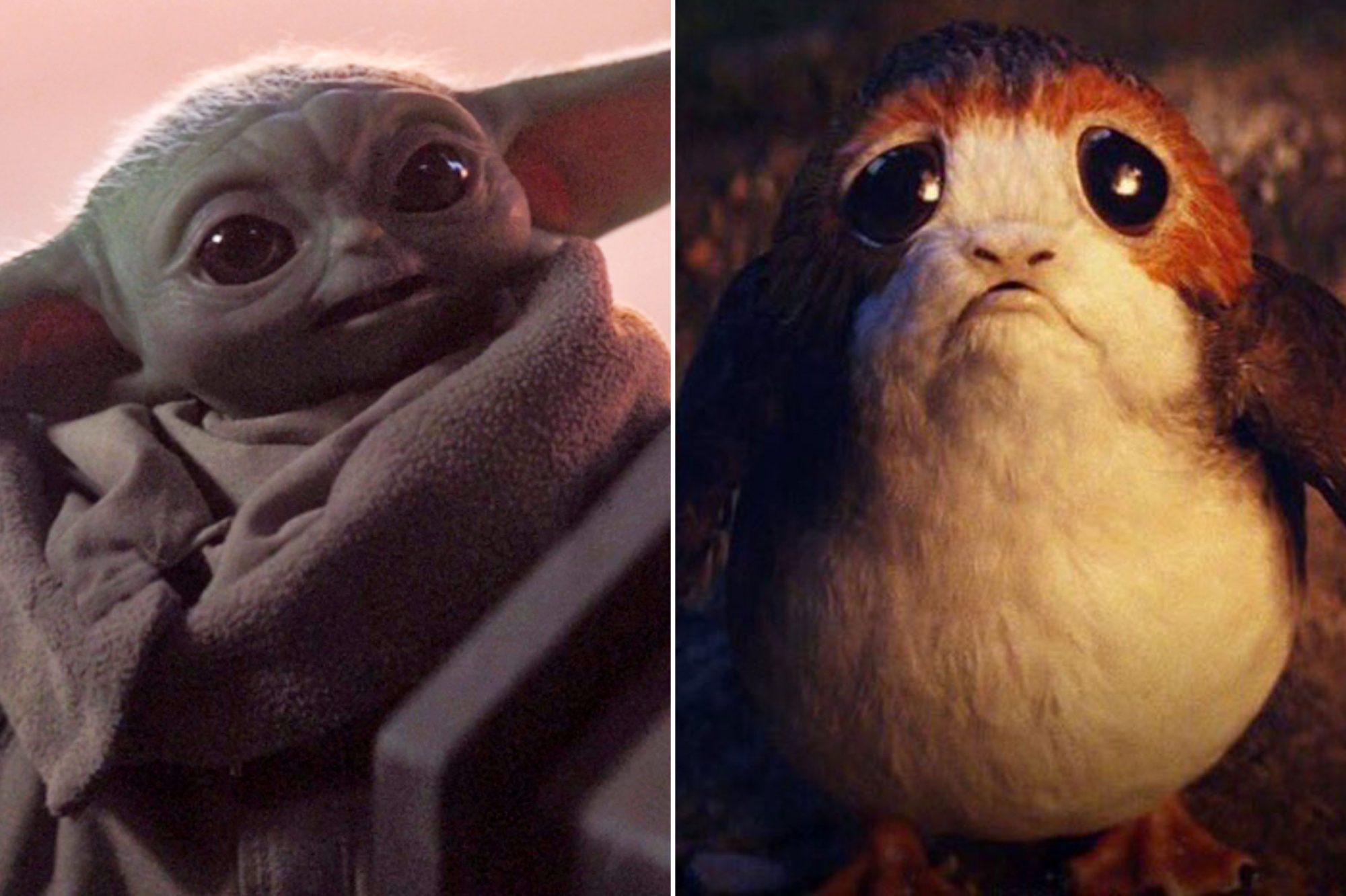 Baby Yoda vs. Porgs