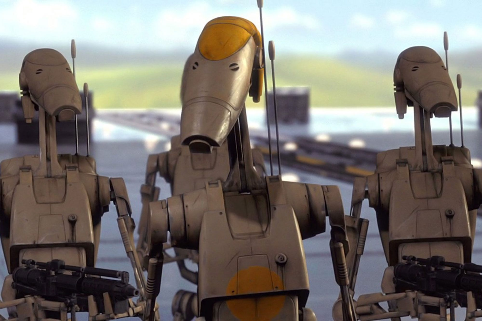 24. Battle droids (The Phantom Menace)