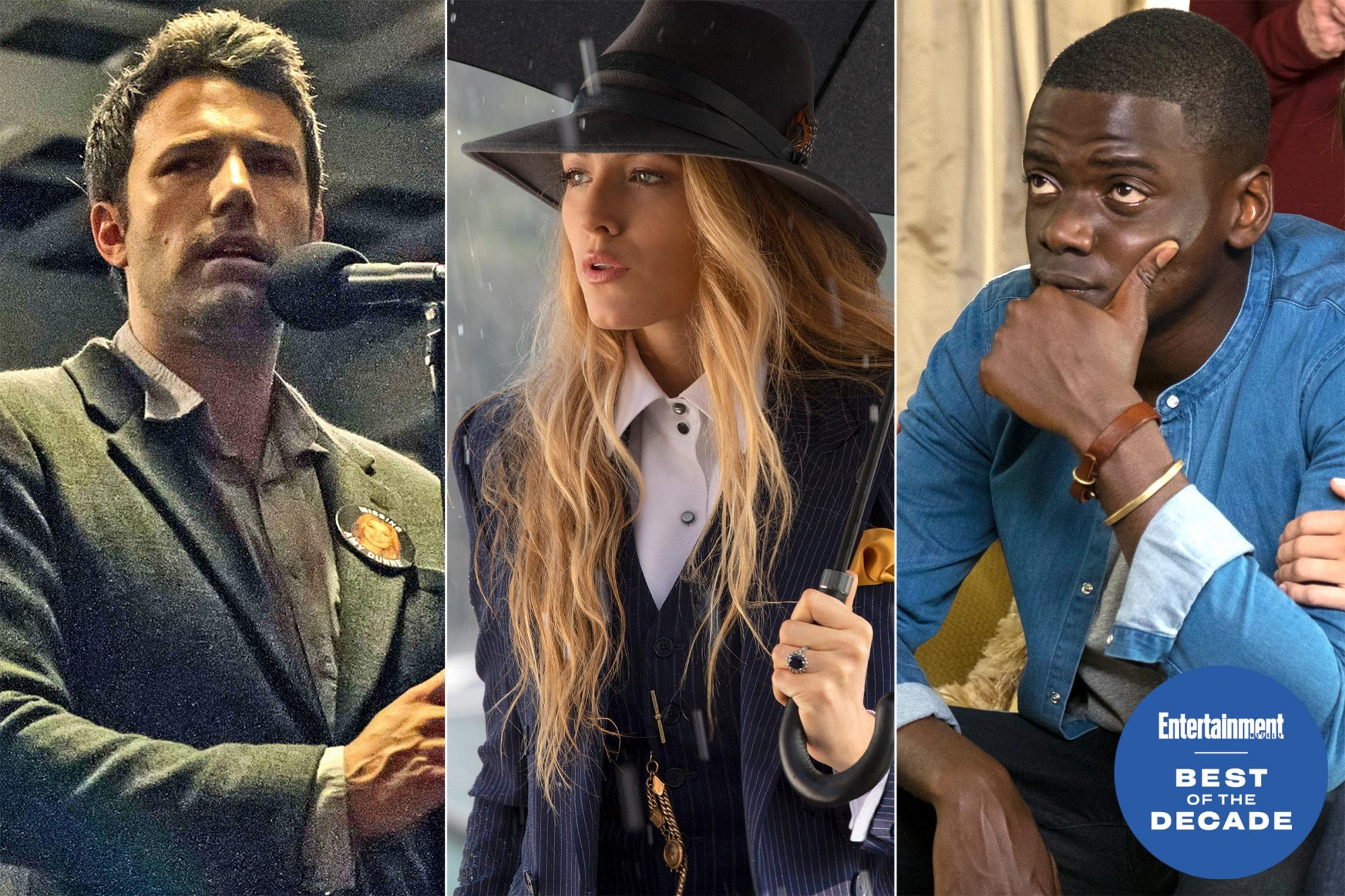Gone Girl / A Simple Favor / Get Out