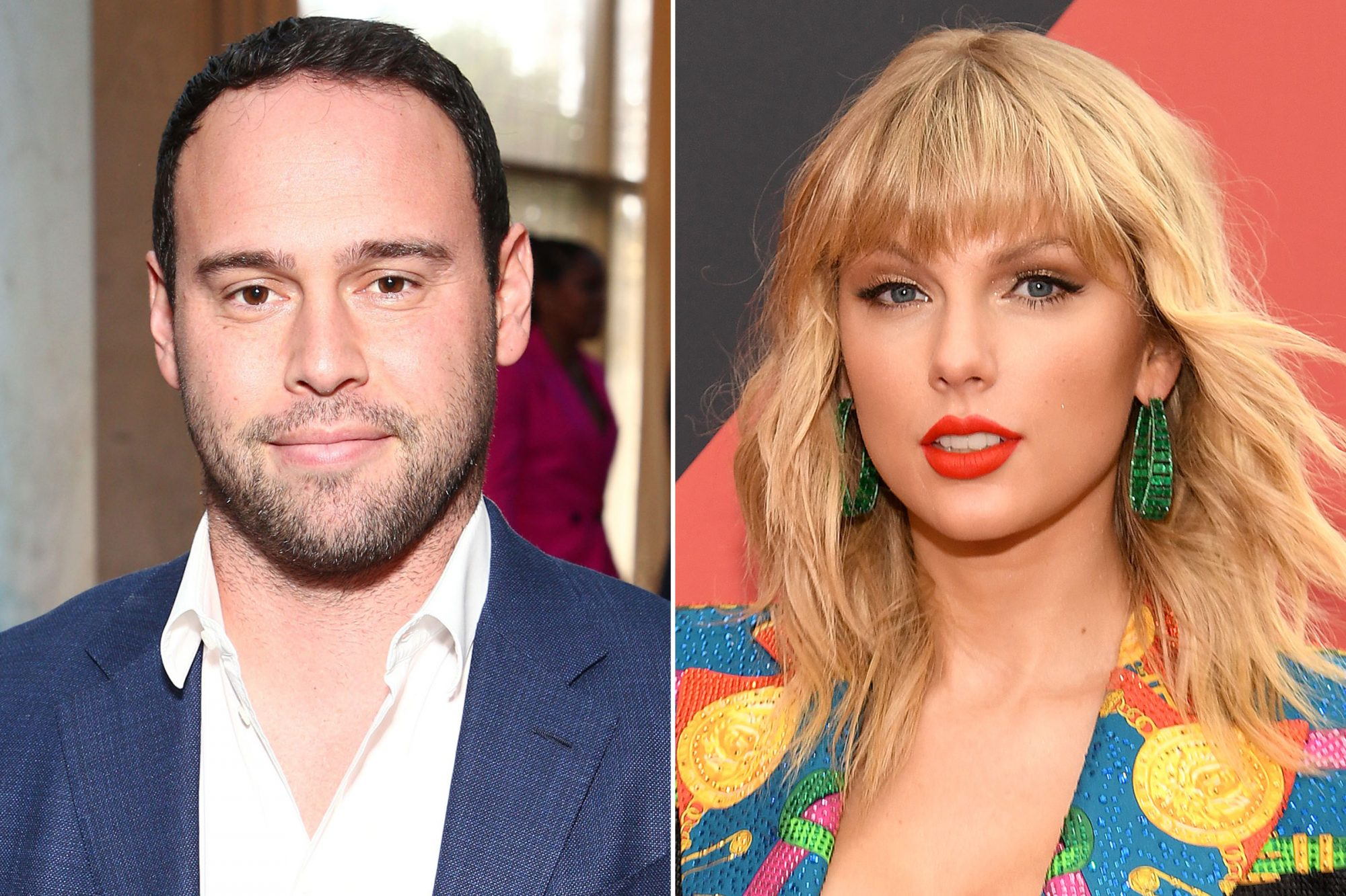 Scooter Braun; Taylor Swift