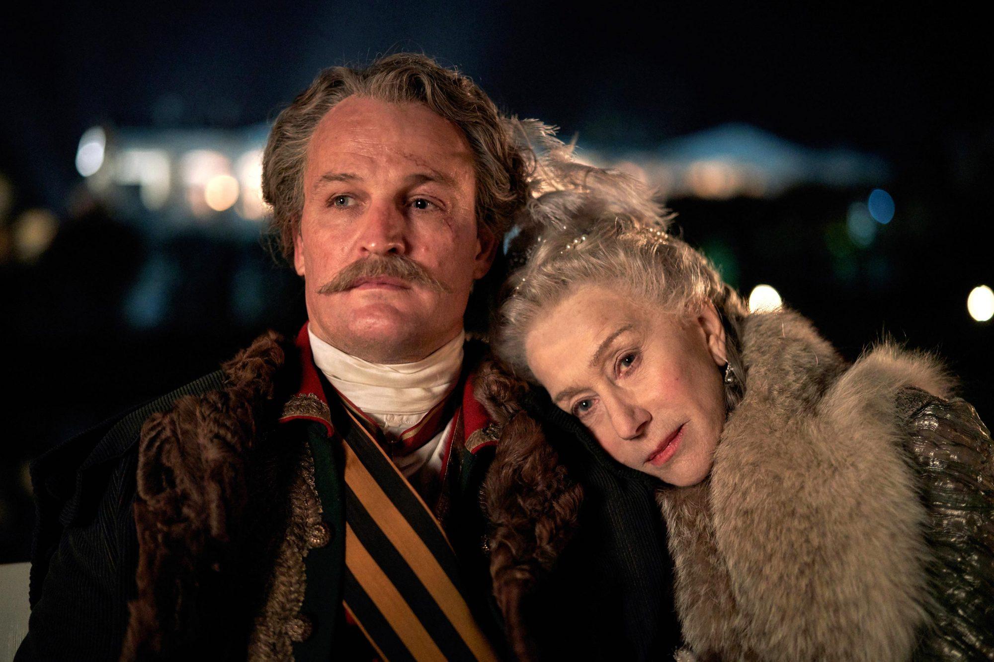 Catherine the GreatJason Clarke, Helen Mirren.photo: Robert Vigalsky/HBO