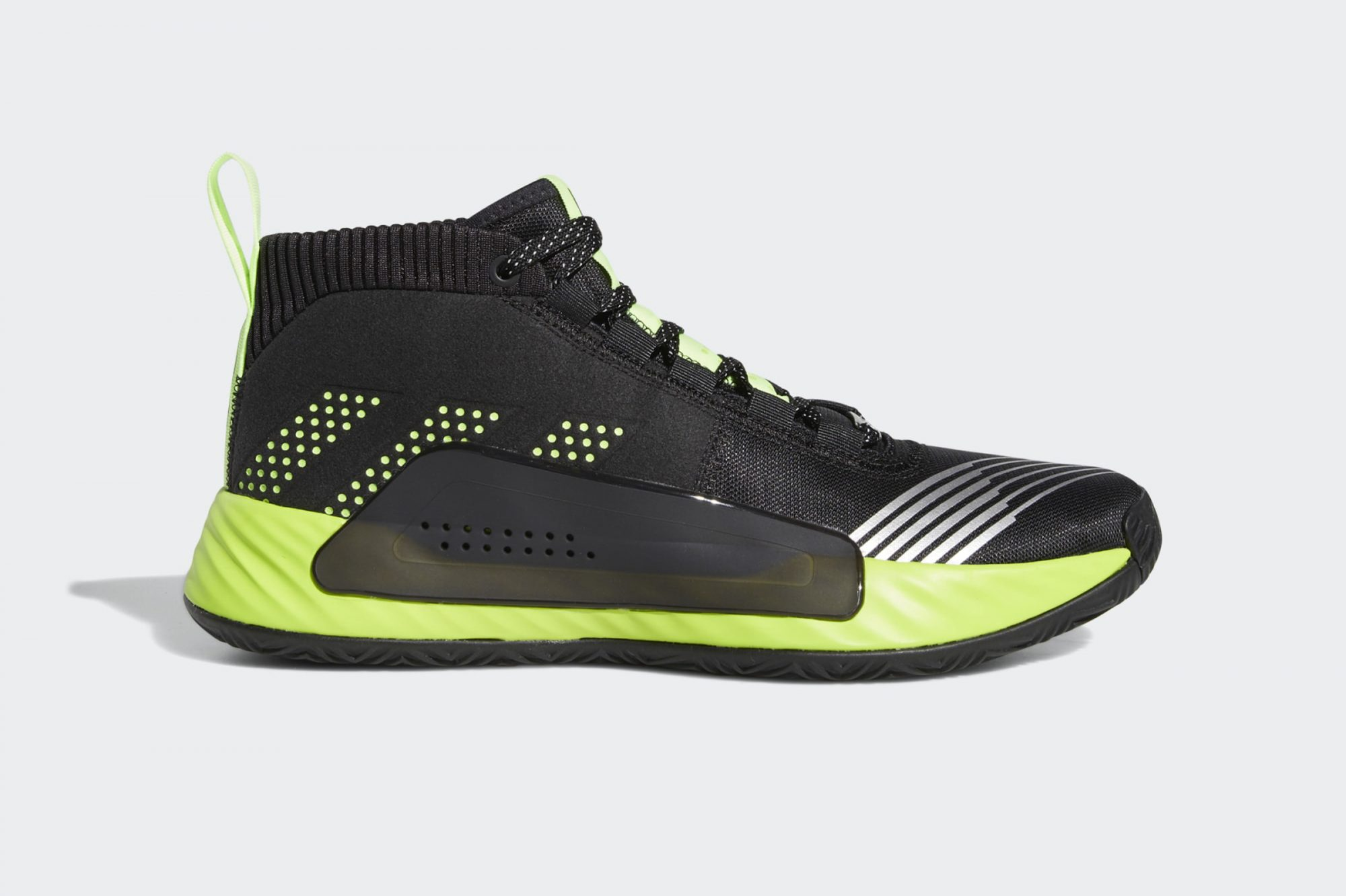 adidas Dame 5 Star Wars Lightsaber Green Shoes