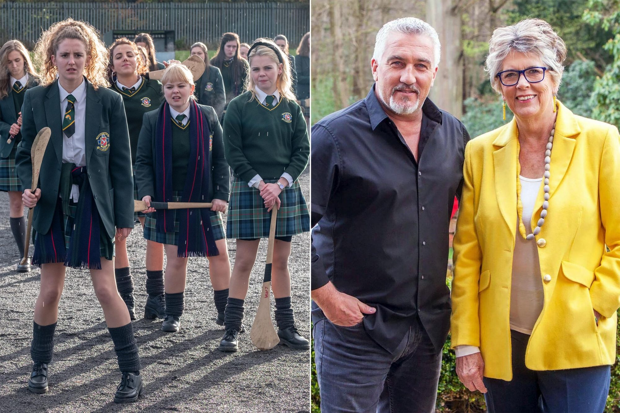 Derry Girls / Bake Off