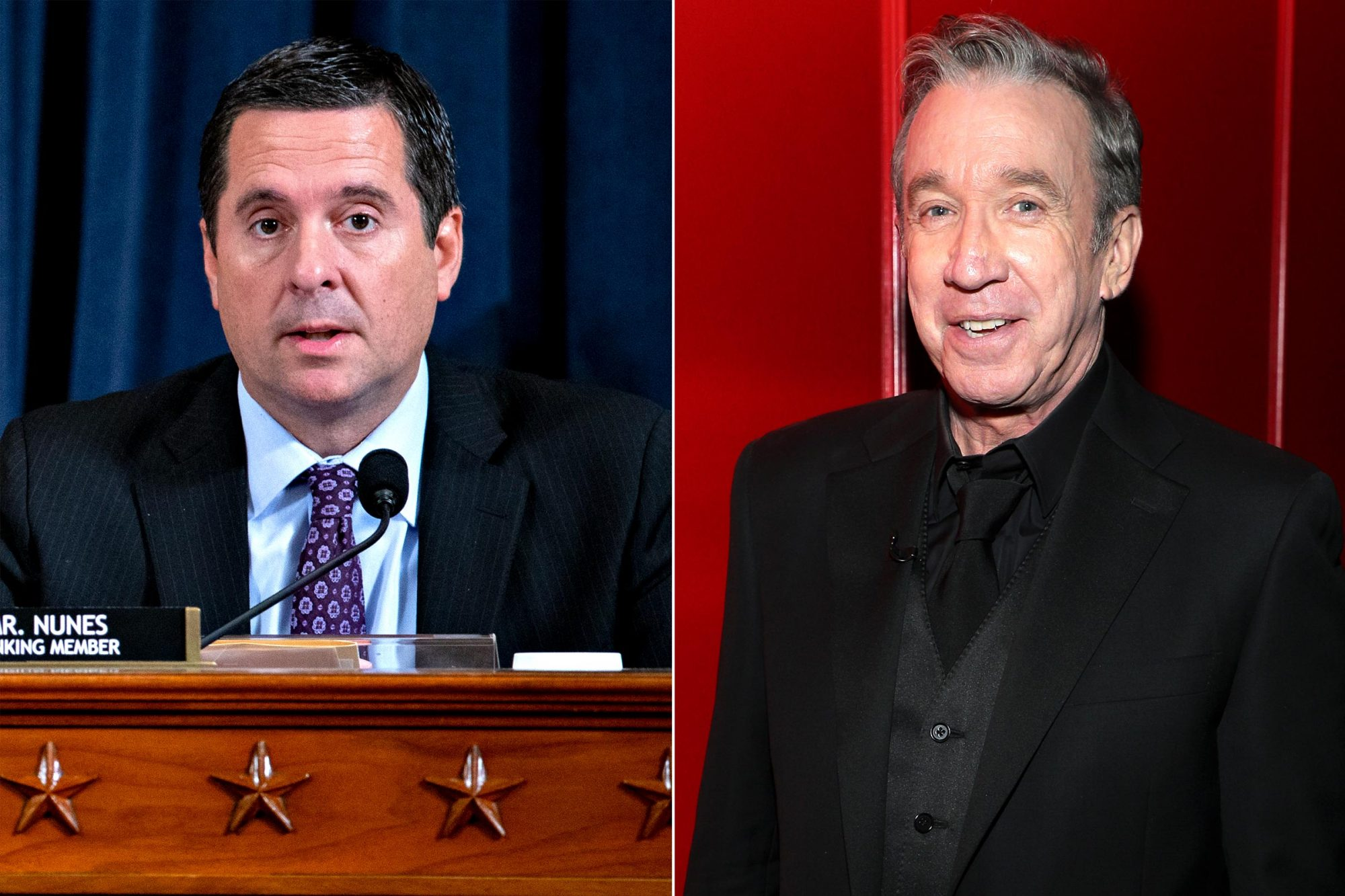 U.S. Rep. Devin Nunes, played by Tim Allen