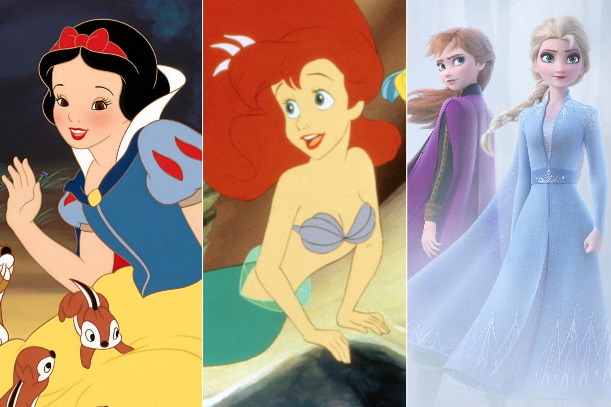From Snow White To Frozen 2 The Evolution Of Disney Princesses
