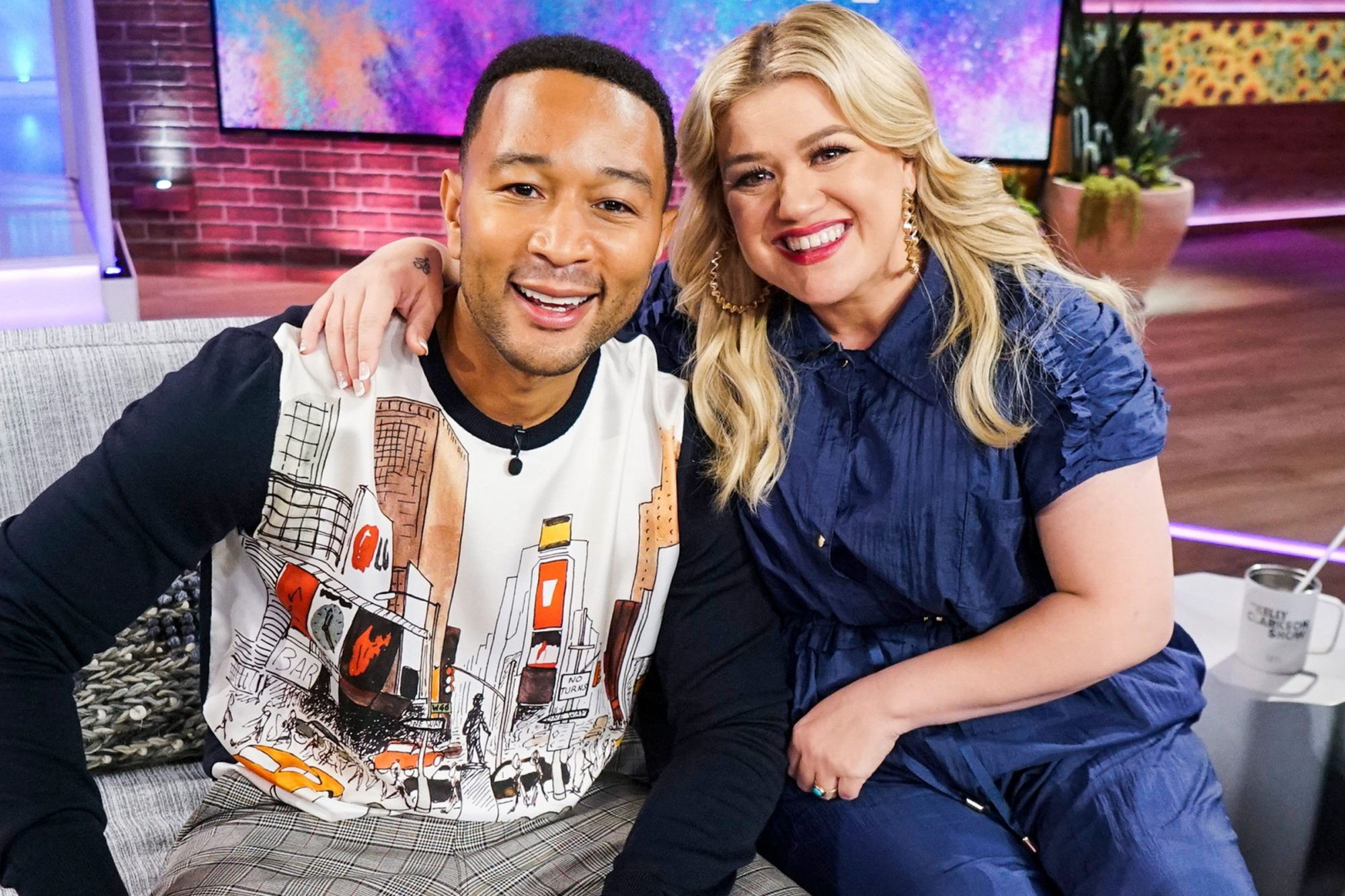 John Legend, Kelly Clarkson