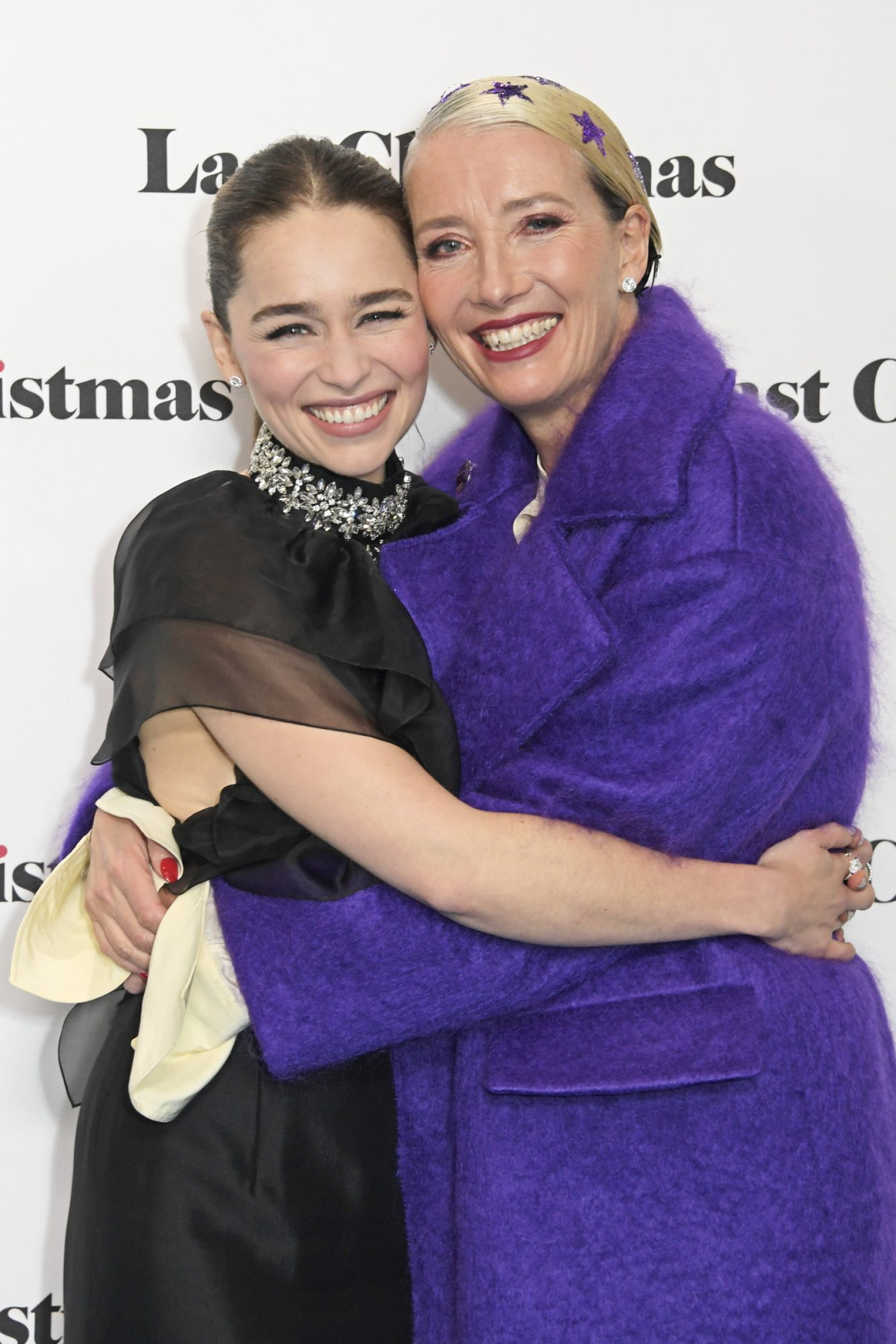 Emilia Clarke and Emma Thompson