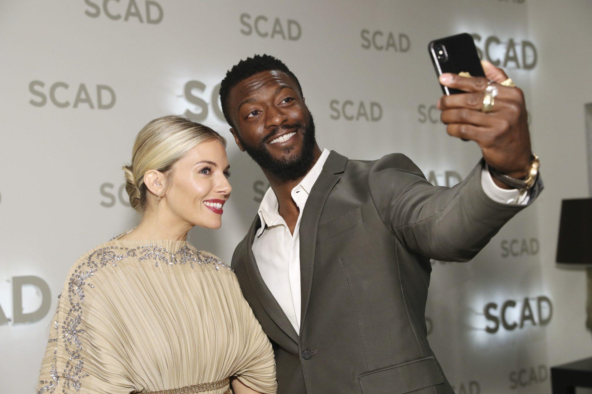 "22nd SCAD Savannah Film Festival - Sienna Miller Outstanding Achievement In Cinema Award Presentation And ""American Woman"" Q&A"