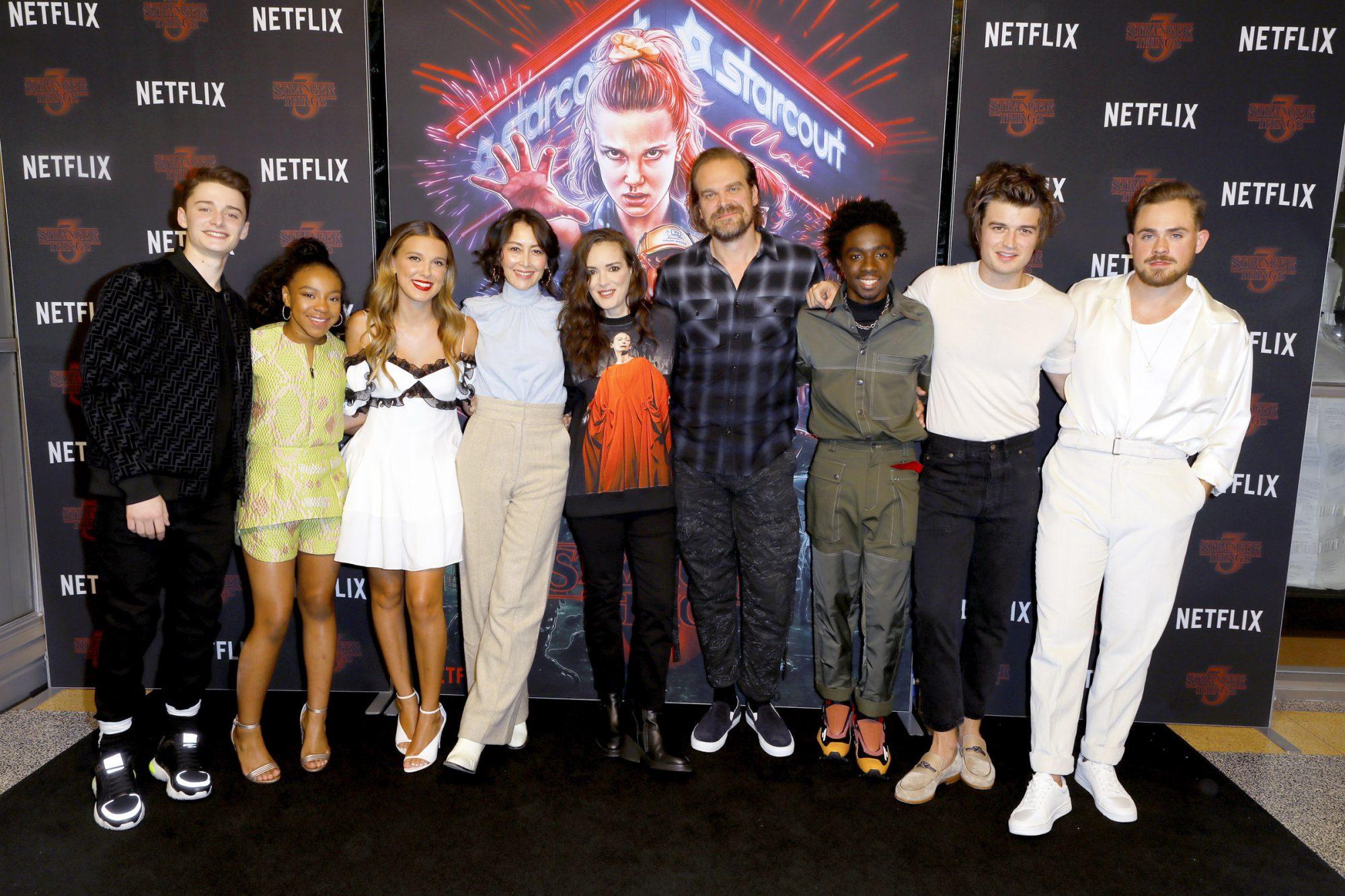 """Photocall For Netflix's """"Stranger Things"""" Season 3"""