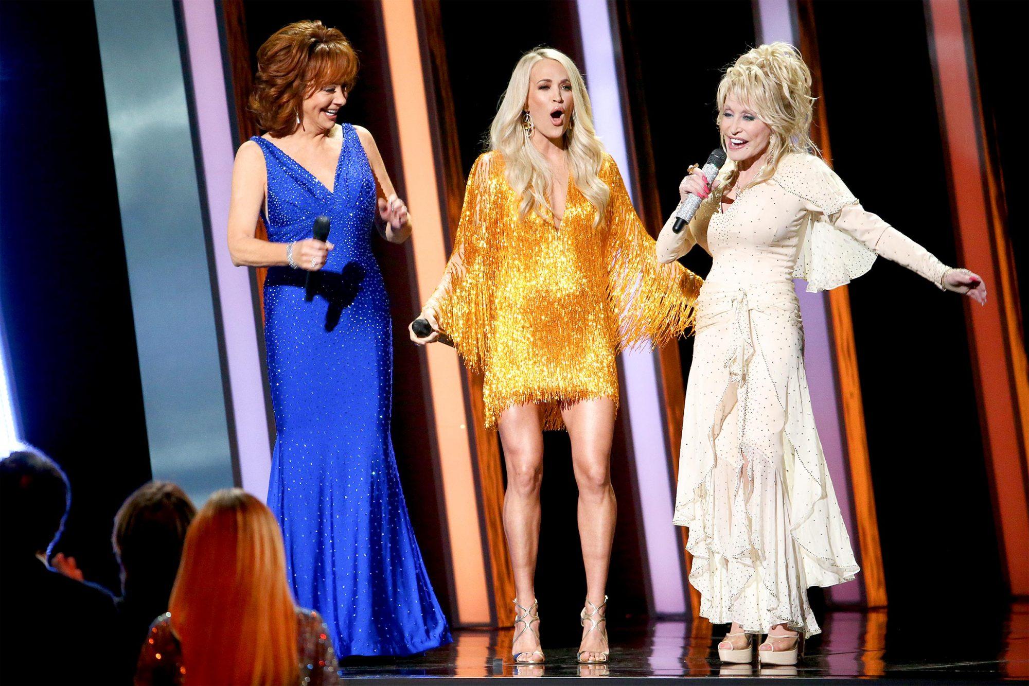 CMA Awards - Reba McEntire, Carrie Underwood, Dolly Parton