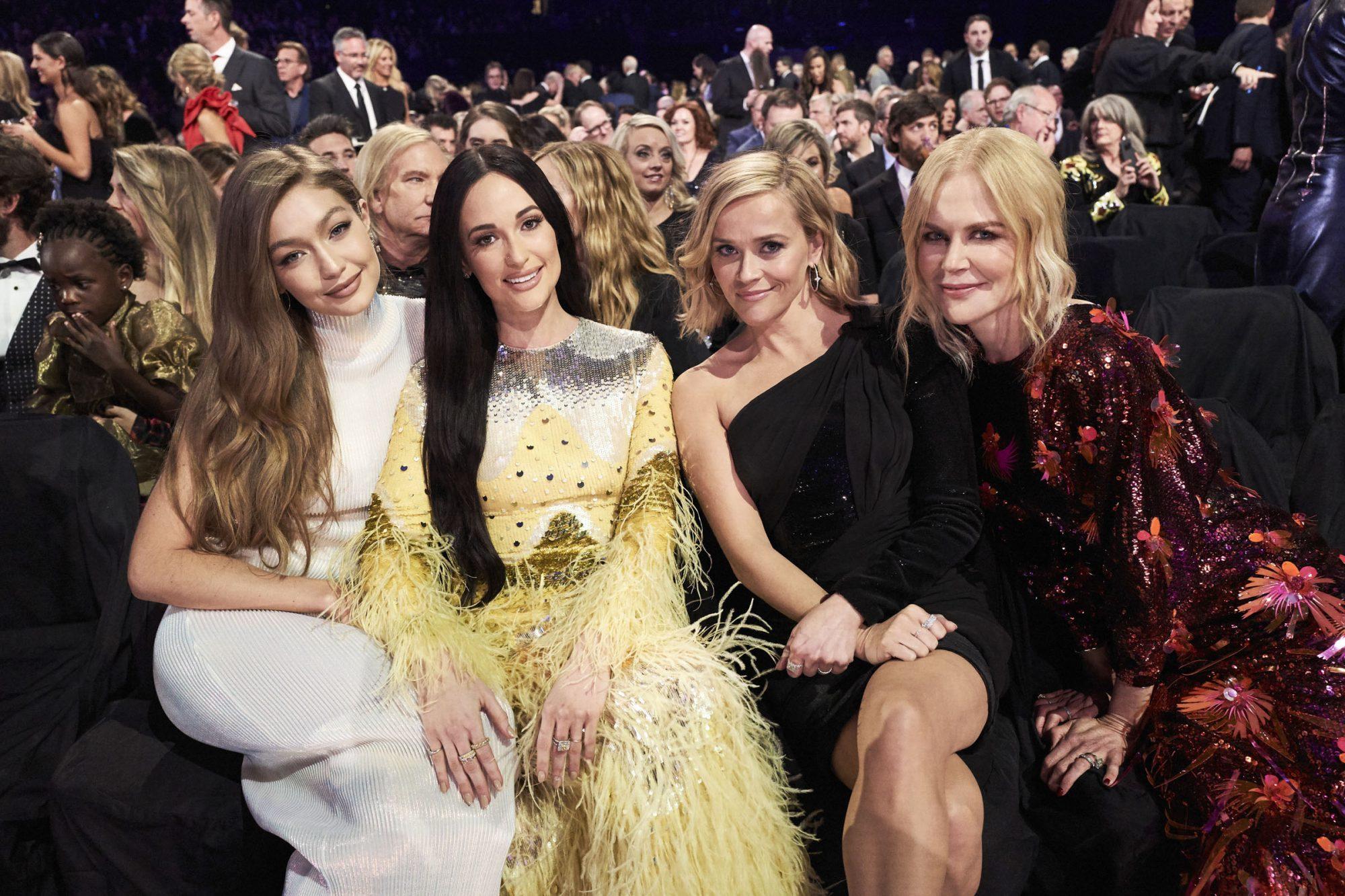 Gigi Hadid, Kacey Musgraves, Reese Witherspoon and Nicole Kidman