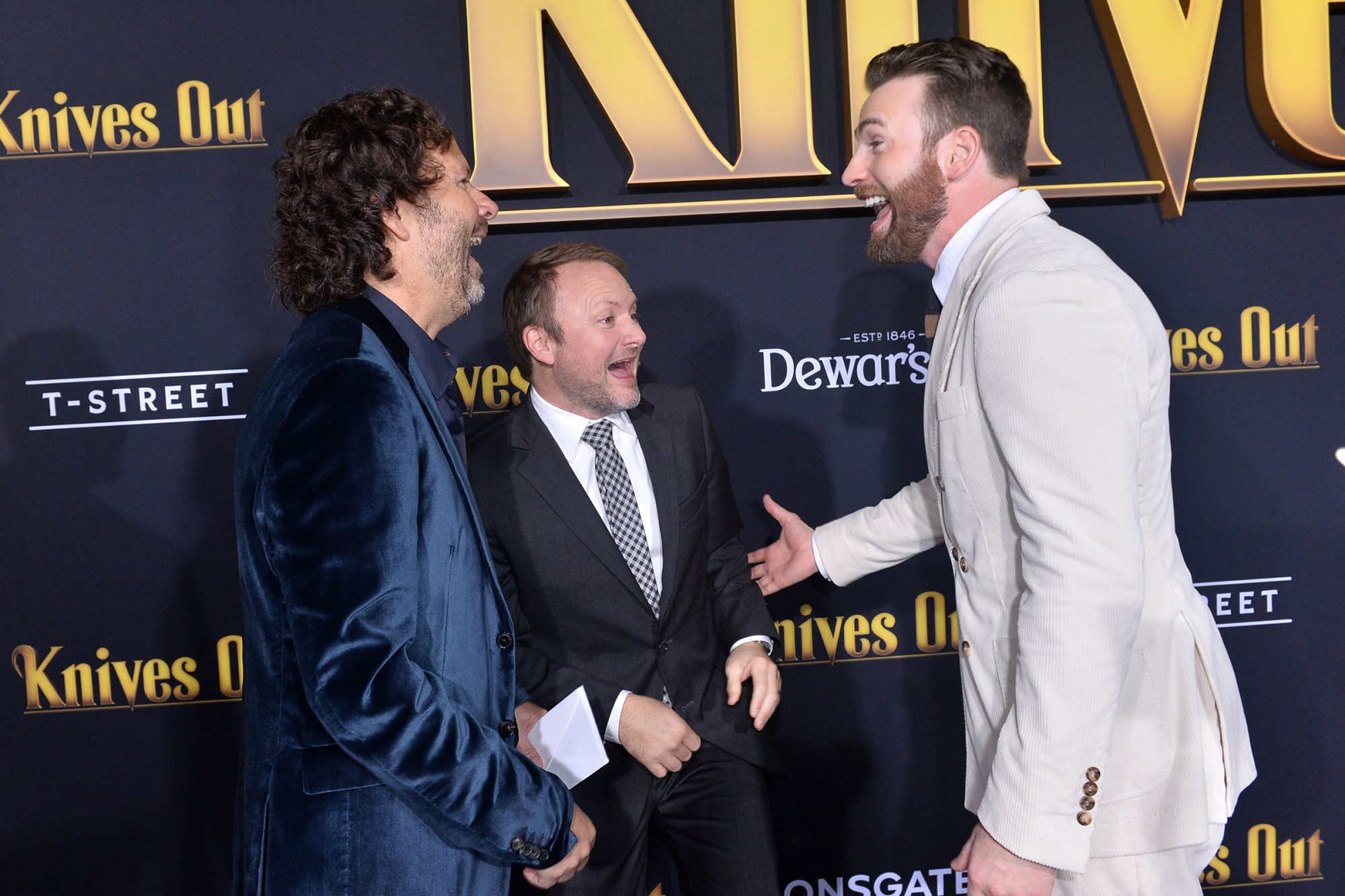 "Premiere Of Lionsgates' ""Knives Out"" - Red Carpet"