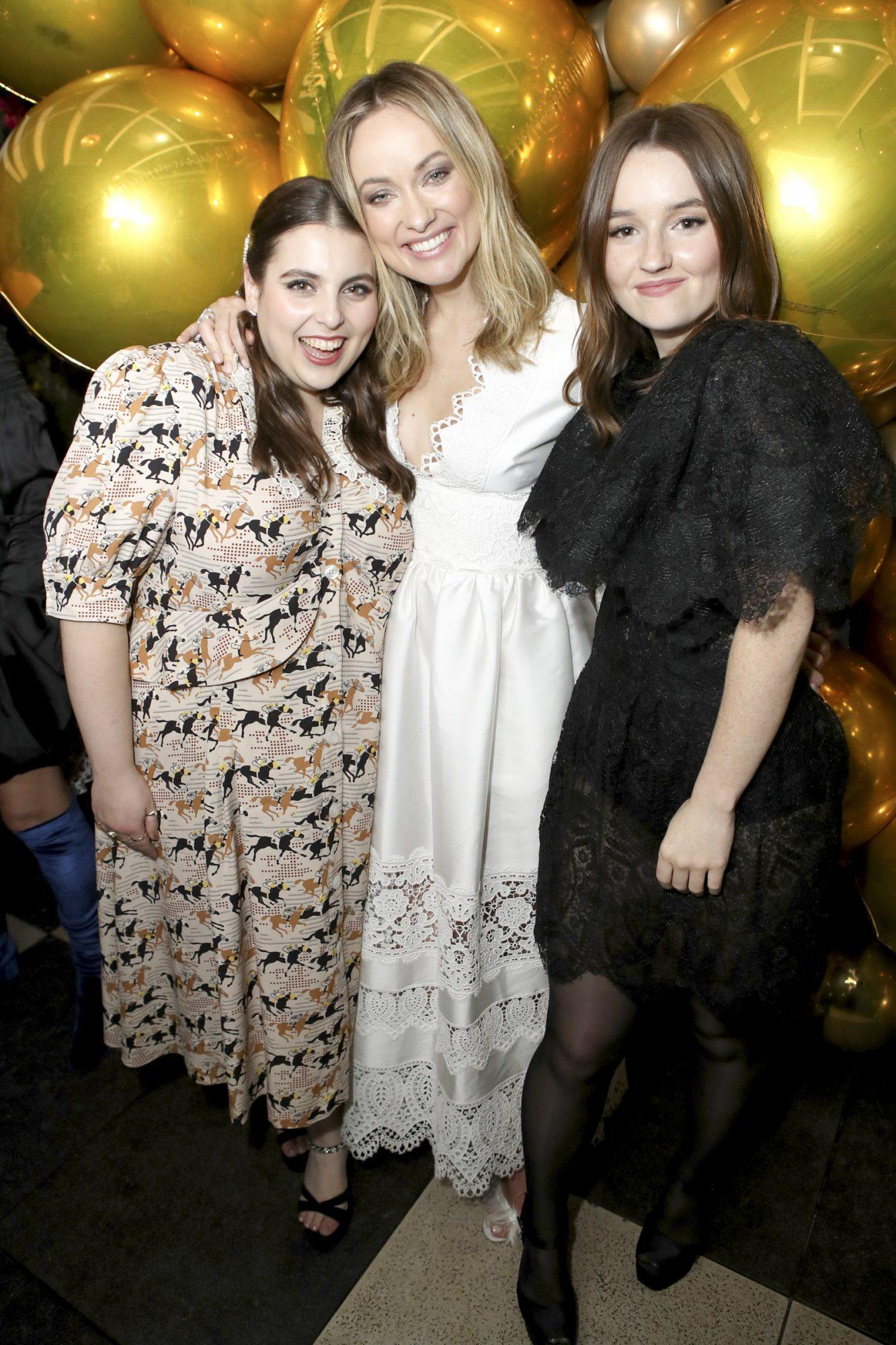 Beanie Feldstein, Olivia Wilde and Kaitlyn Dever