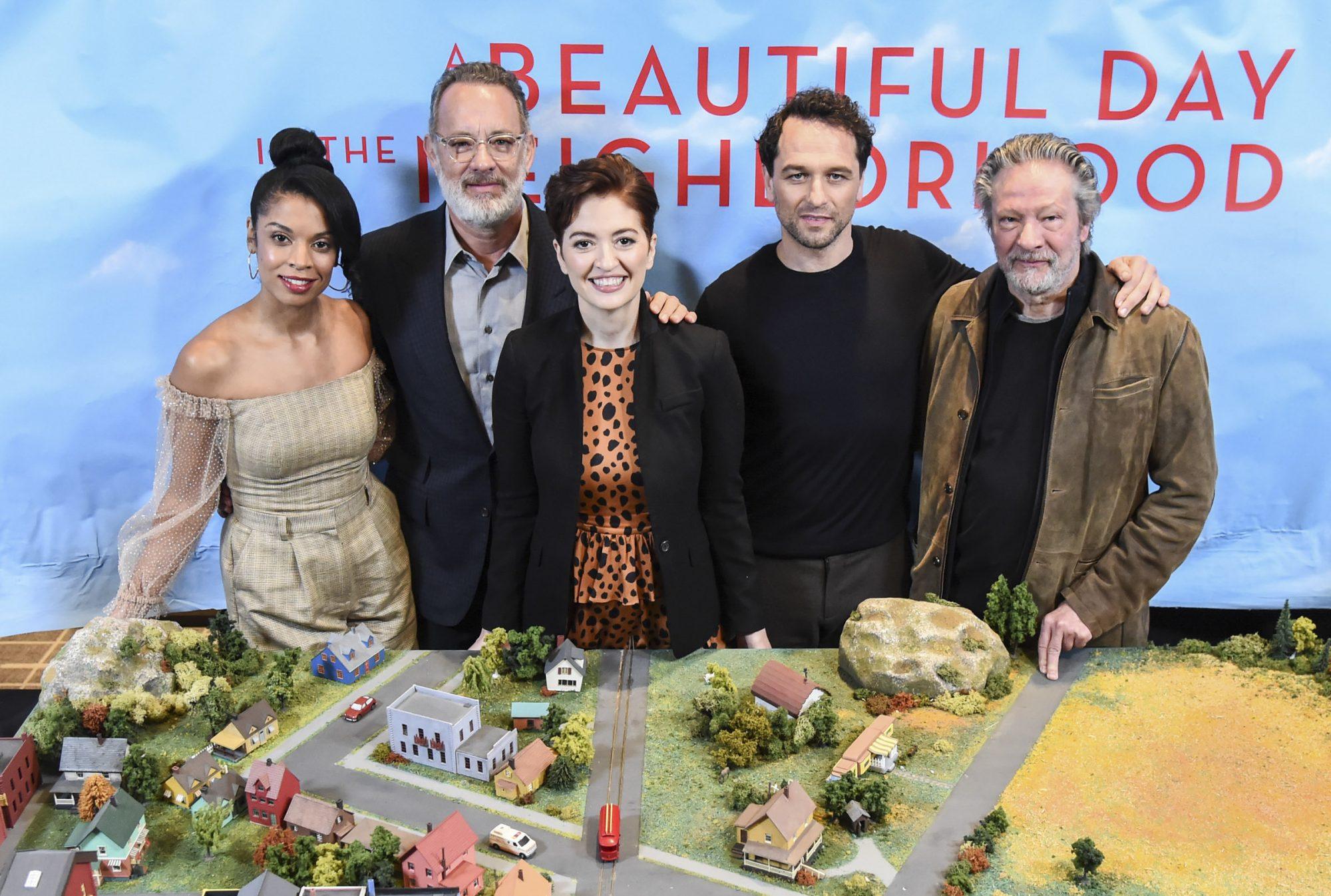 Susan Kelechi Watson, Tom Hanks, Marielle Heller, Matthew Rhys and Chris Cooper