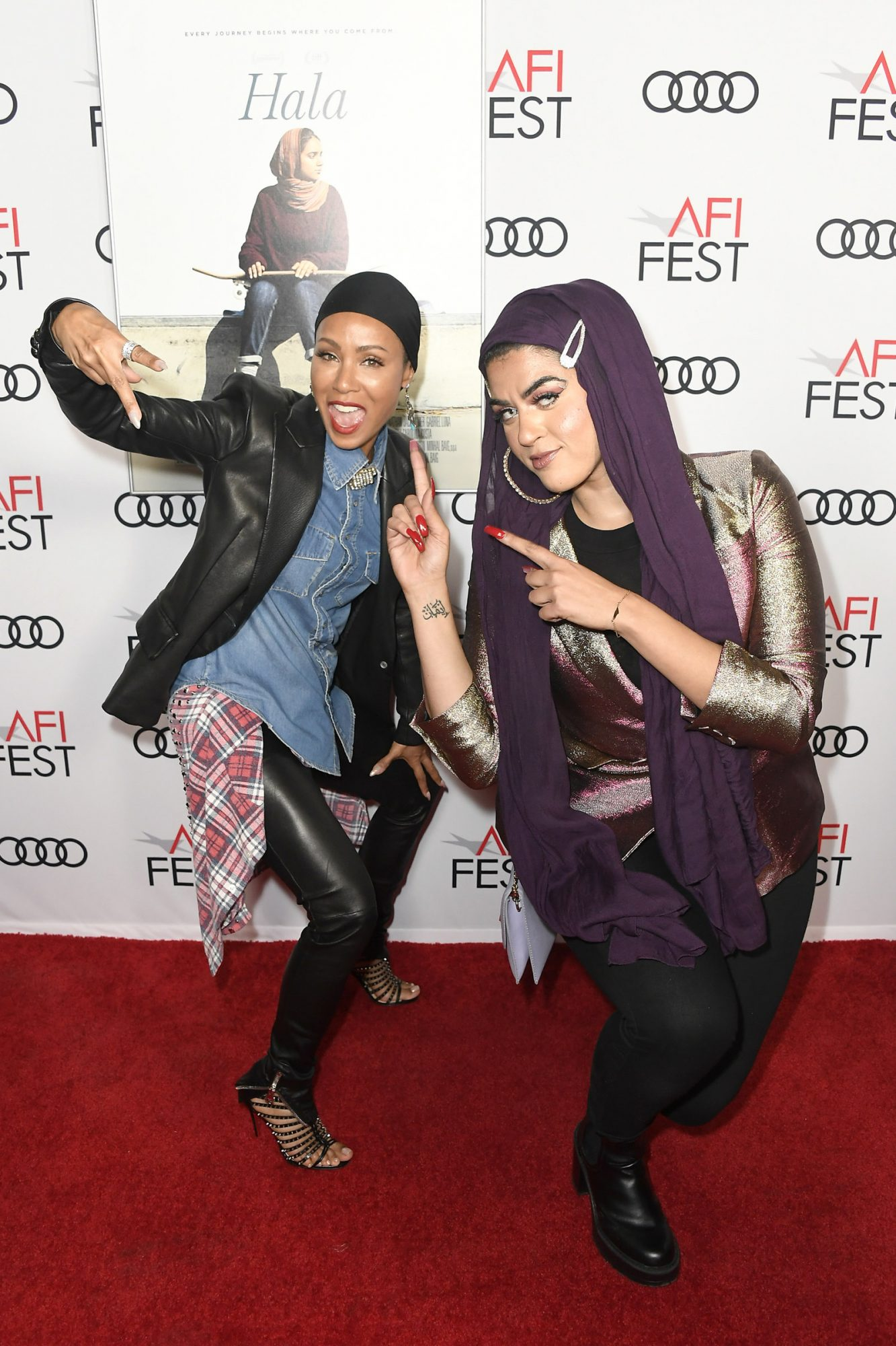 Jada Pinkett Smith and Amani al-Khatahtbeh