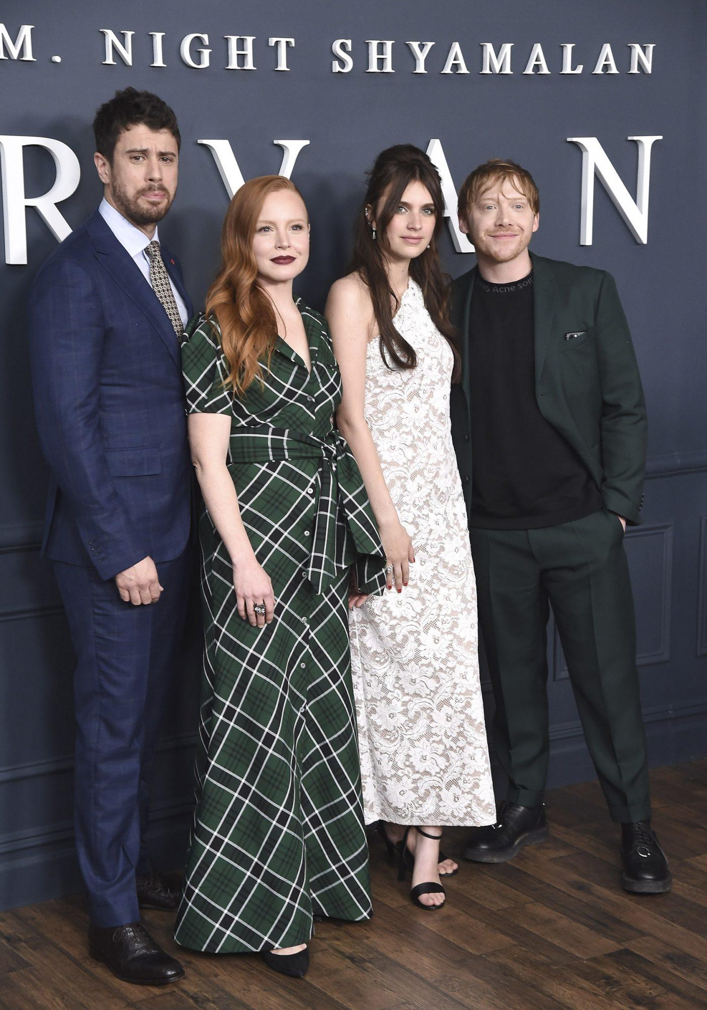"Toby Kebbell, Lauren Ambrose, Nell Tiger Free and Rupert Grint attend Apple TV+'s ""Servant"""
