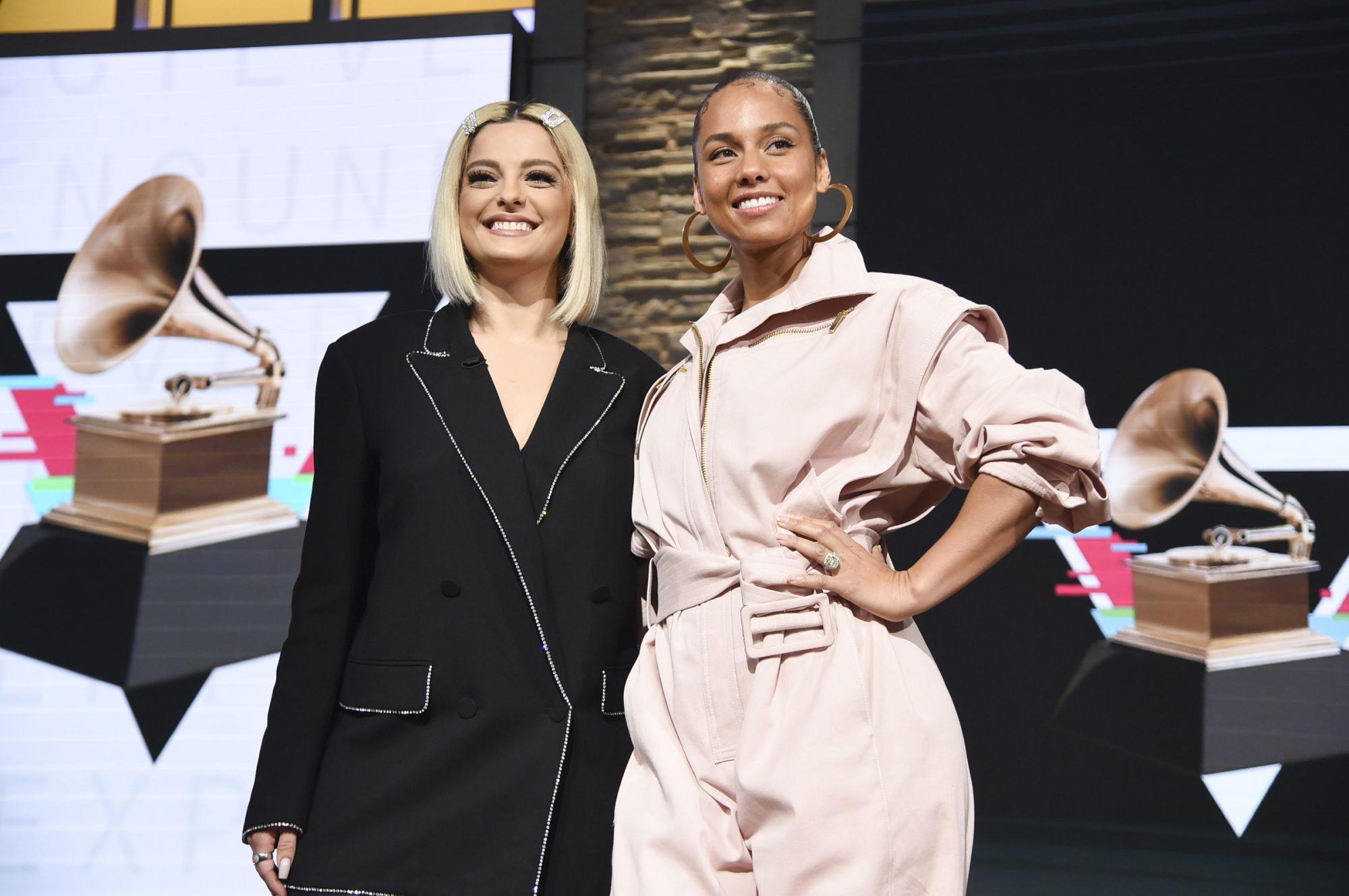 Bebe Rexha and Alicia Keys