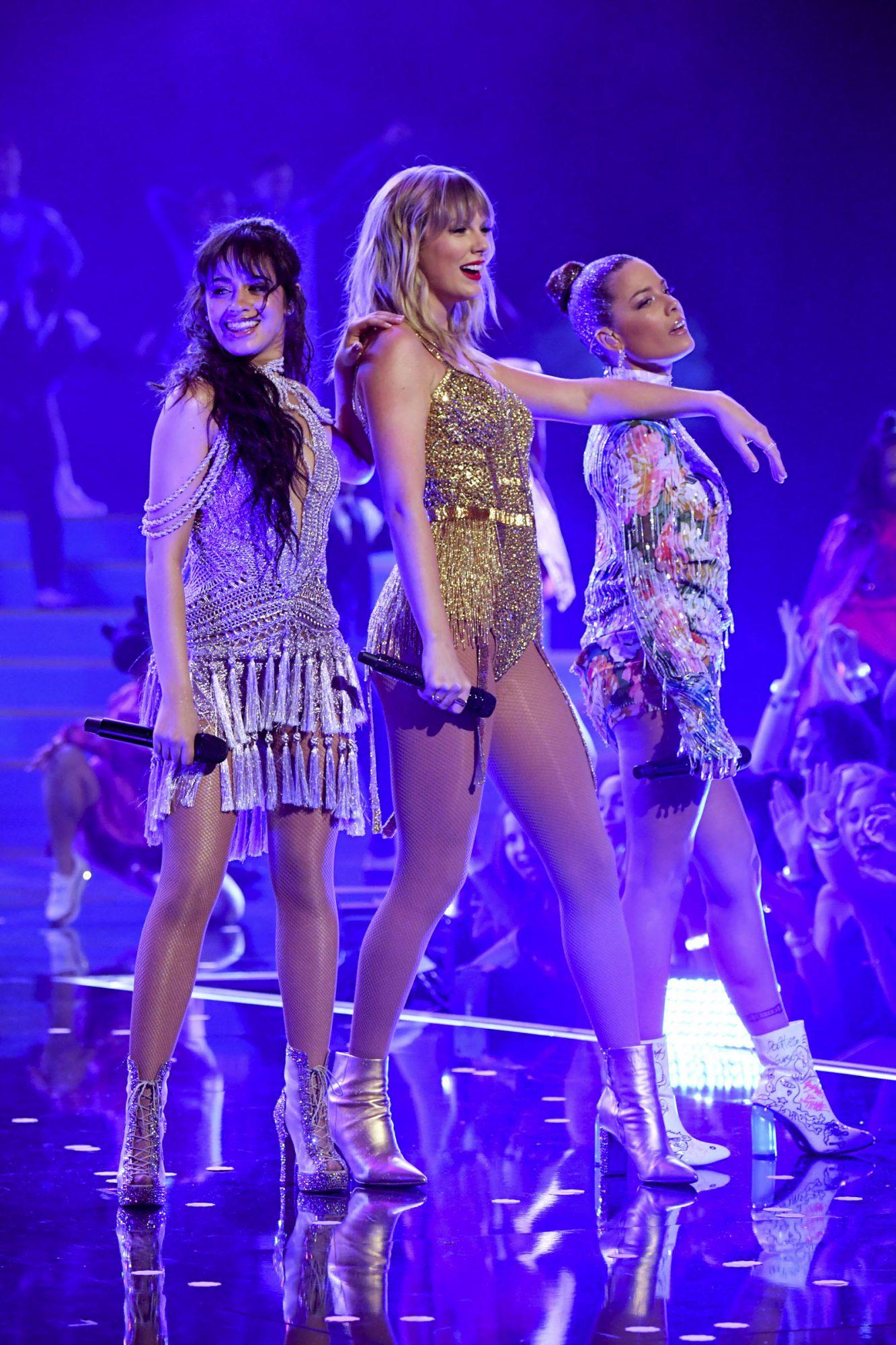 Camila Cabello, Taylor Swift, and Halsey