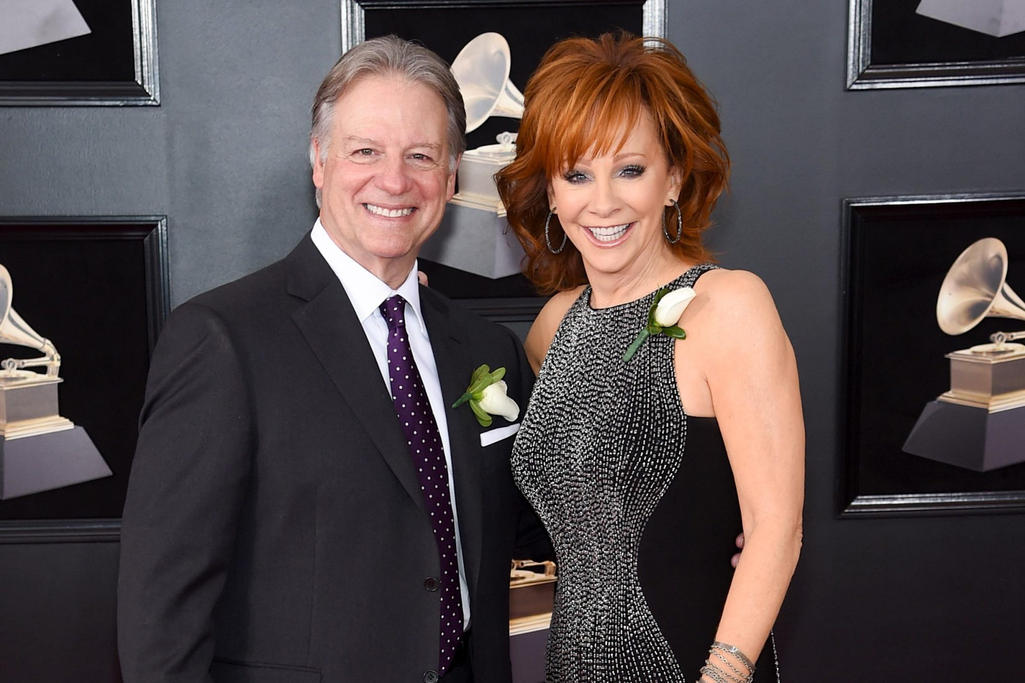 Anthony 'Skeeter' Lasuzzo and Reba McEntire