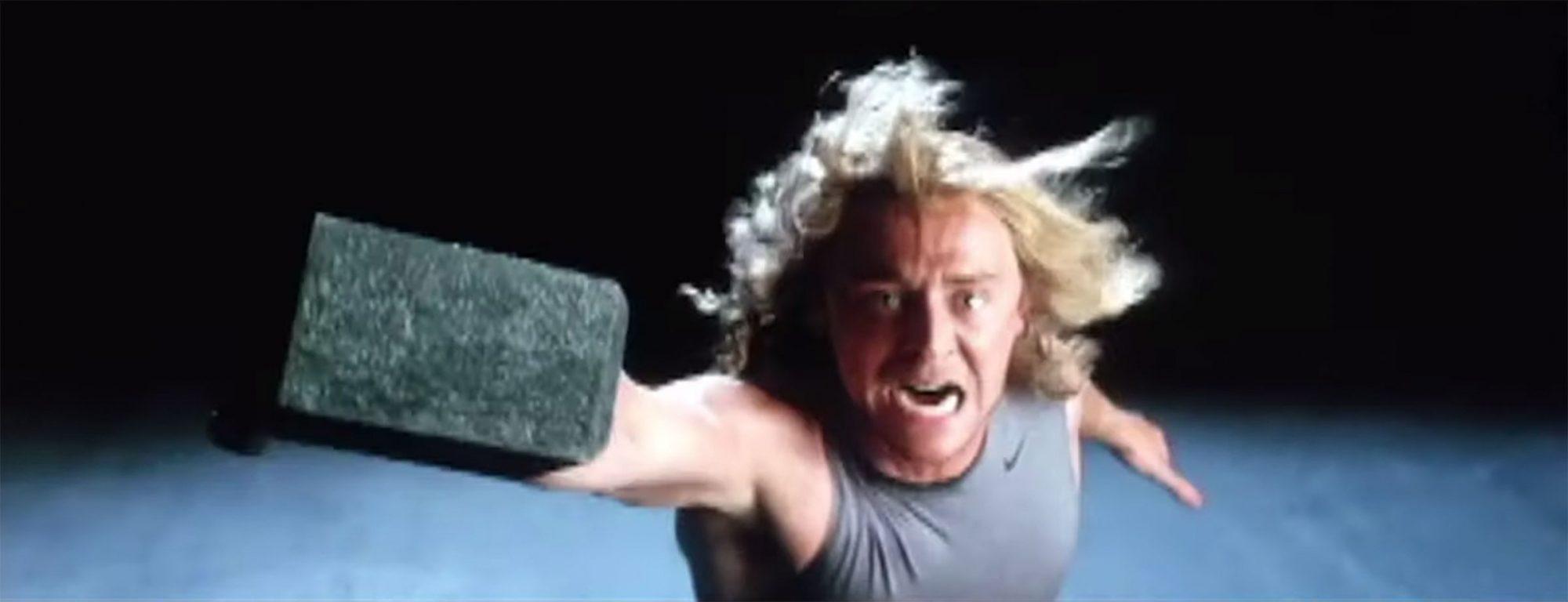 Tom Hiddleston Thor Audition screen grab
