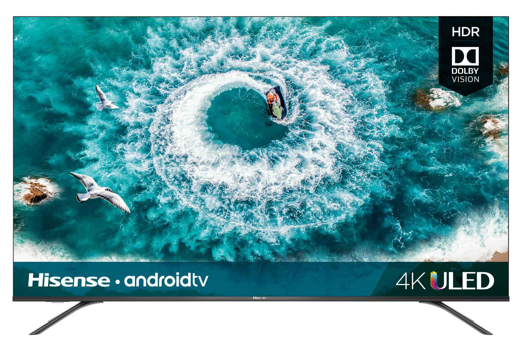 "Hisense 55"" Class 4K Ultra HD HDR10 Android Smart LED TV"