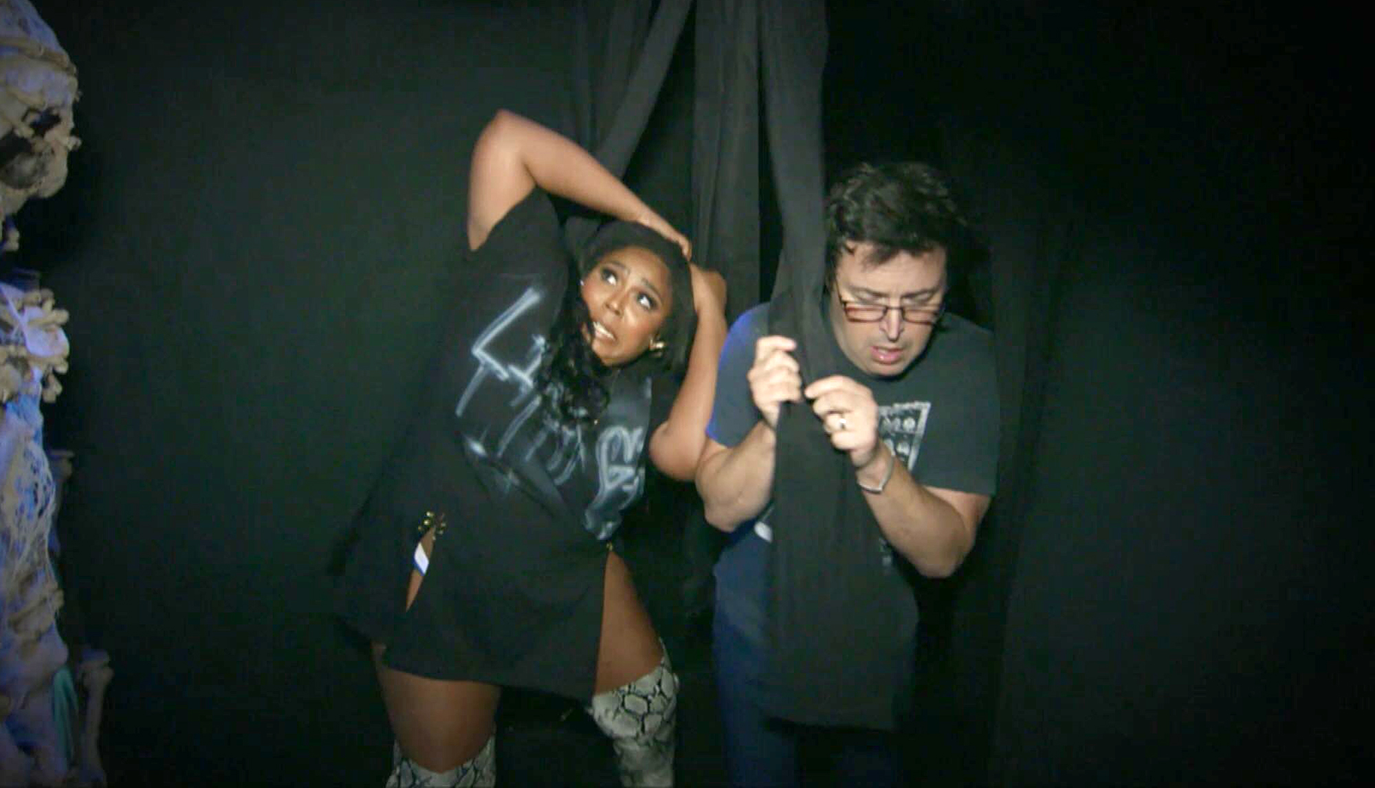 Lizzo; Andy Lassner