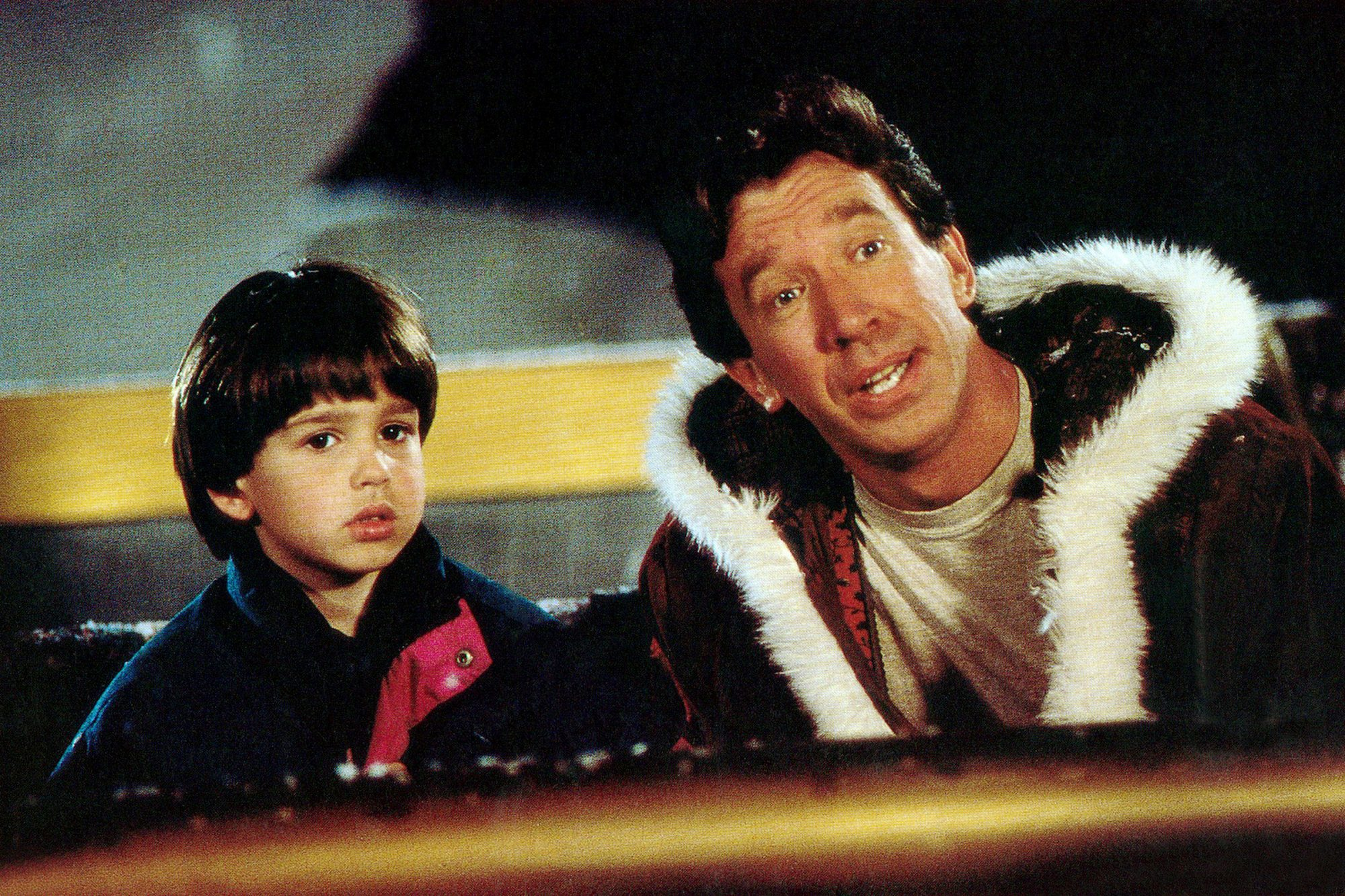 THE SANTA CLAUSE, from left: Eric Lloyd, Tim Allen, 1994, © Buena Vista/courtesy Everett Collection