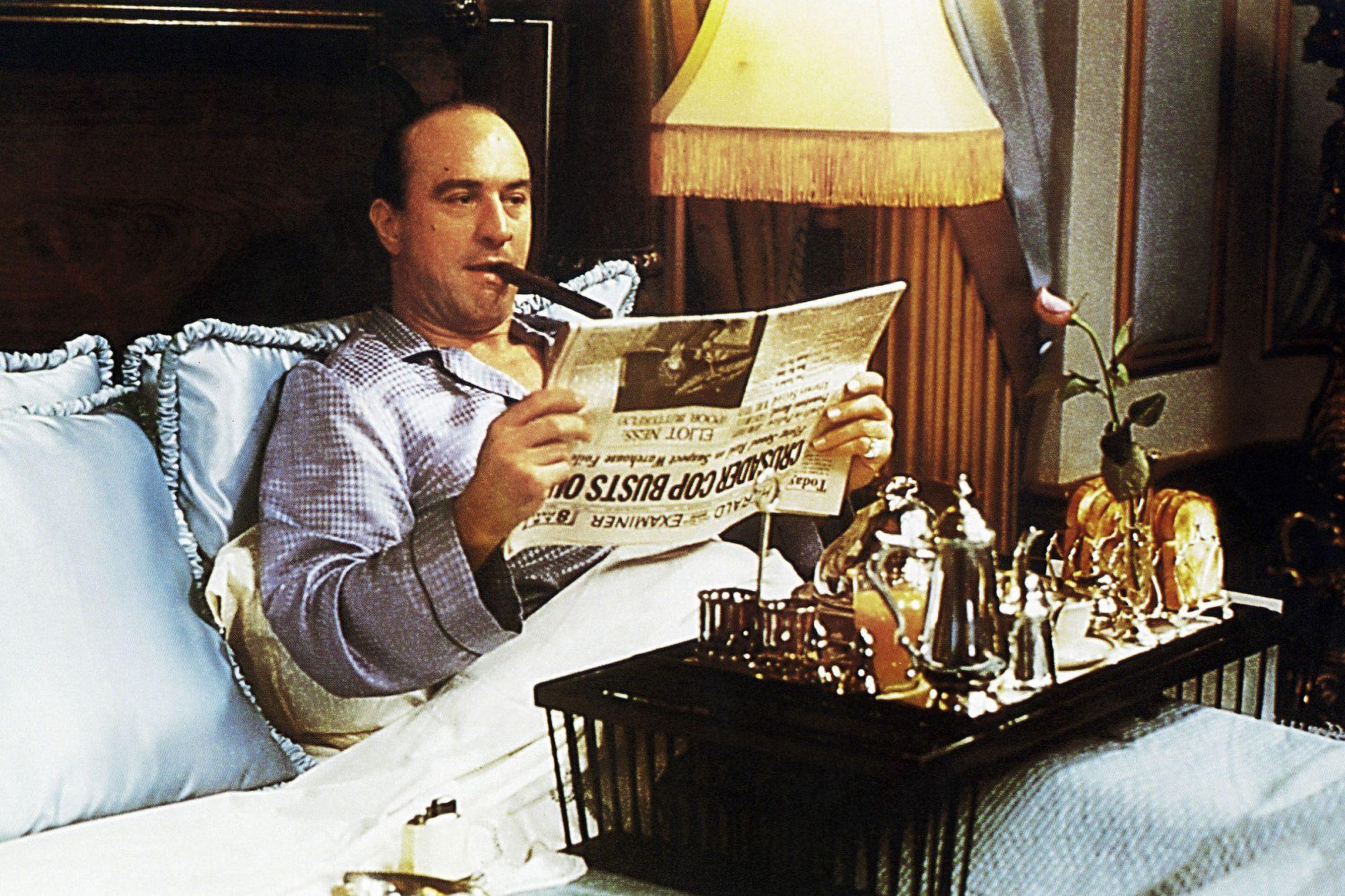 THE UNTOUCHABLES, Robert De Niro as Al Capone, 1987, © Paramount/courtesy Everett Collection