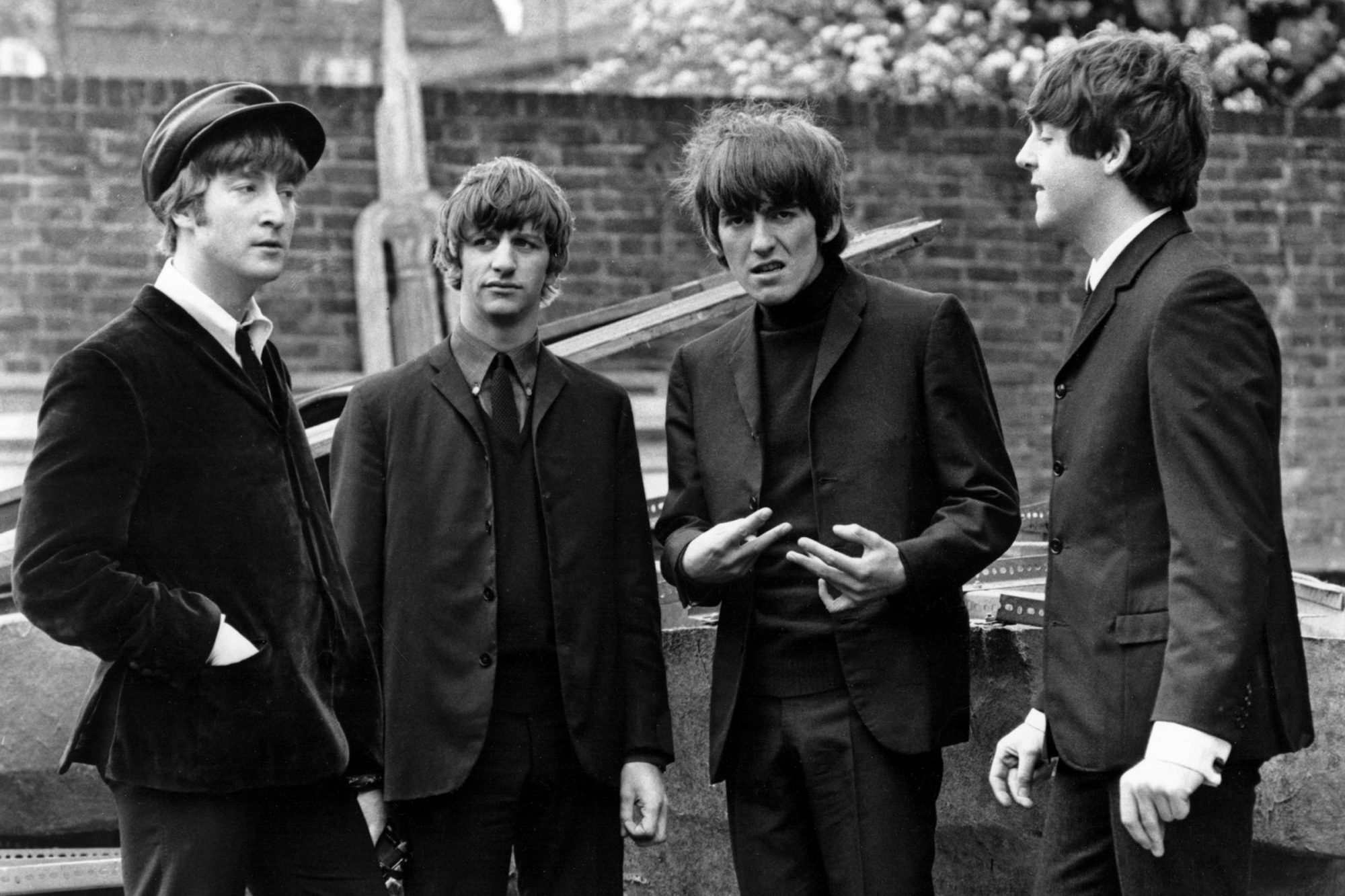 The Beatles in A Hard Day's Night (1964)