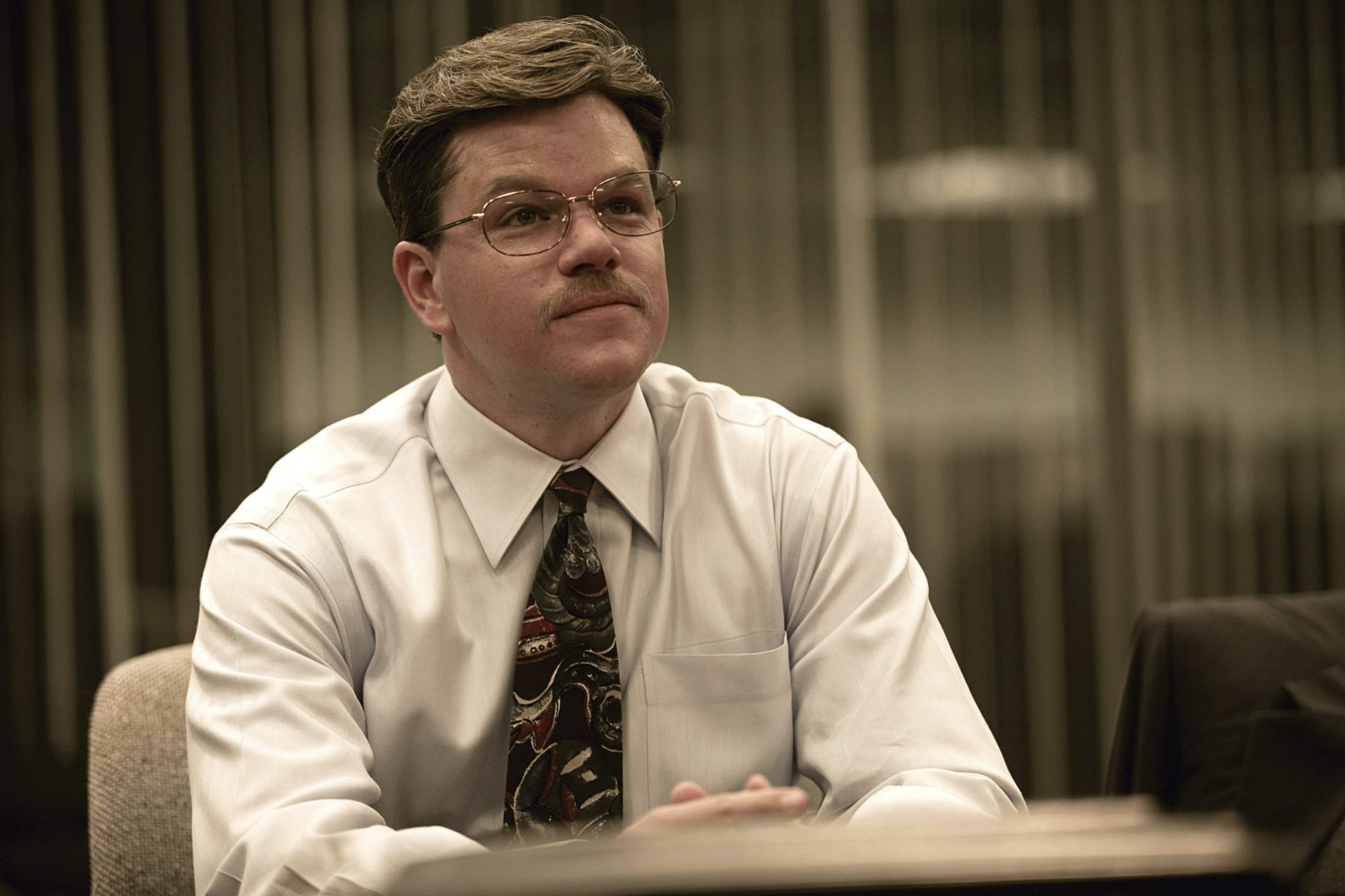 THE INFORMANT!, Matt Damon, 2009. Ph: Claudette Barius/©Warner Bros./courtesy Everett Collection
