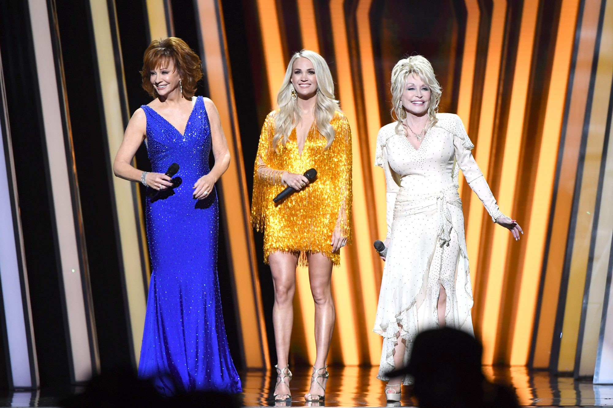 Reba McEntire; Carrie Underwood; Dolly Parton