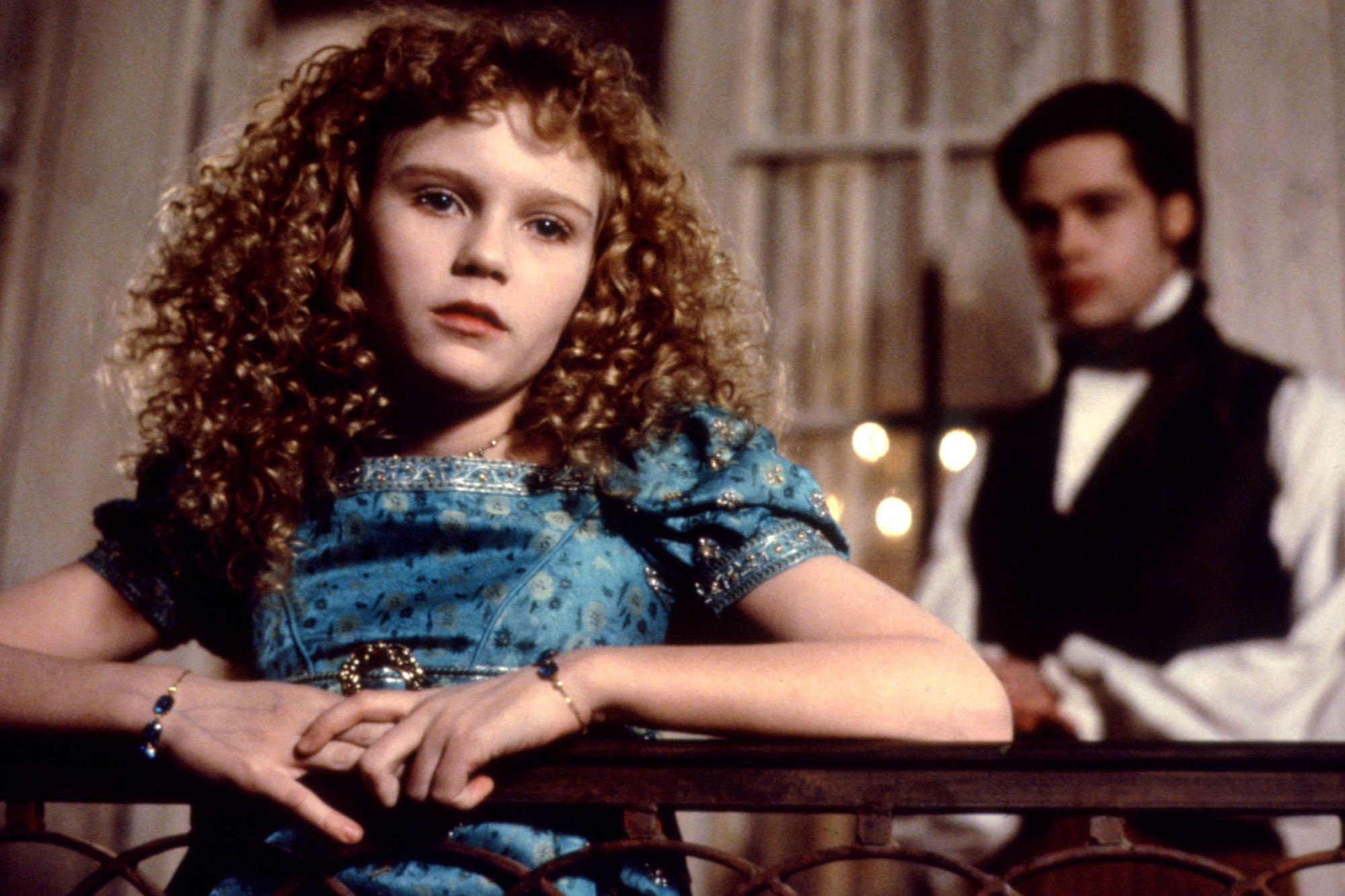 INTERVIEW WITH THE VAMPIRE, Kirsten Dunst, Brad Pitt, 1994, (c)Warner Bros./courtesy Everett Collect