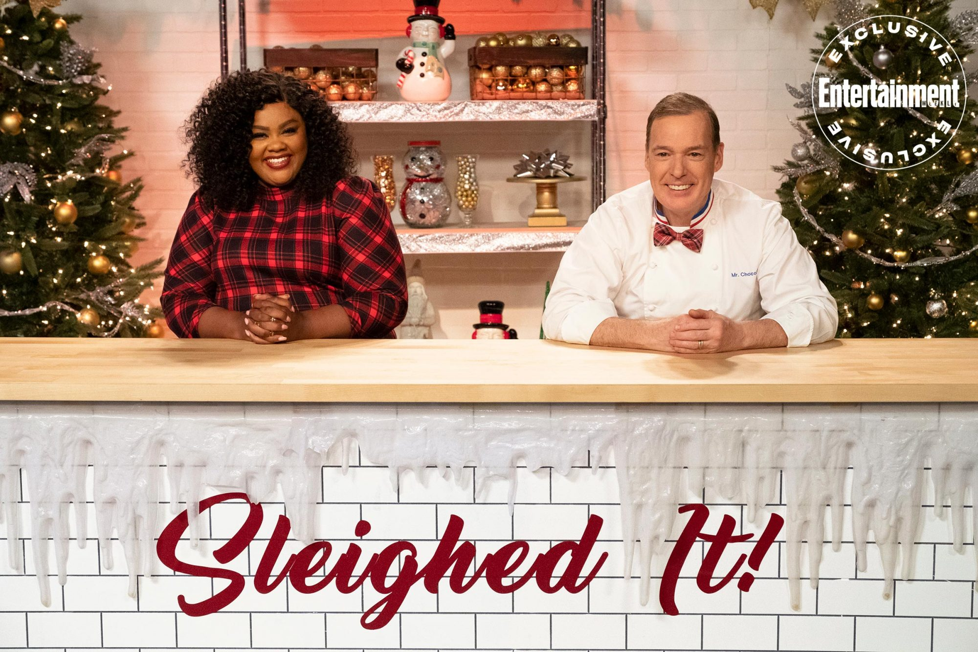 NAILED IT! SLEIGHED IT!