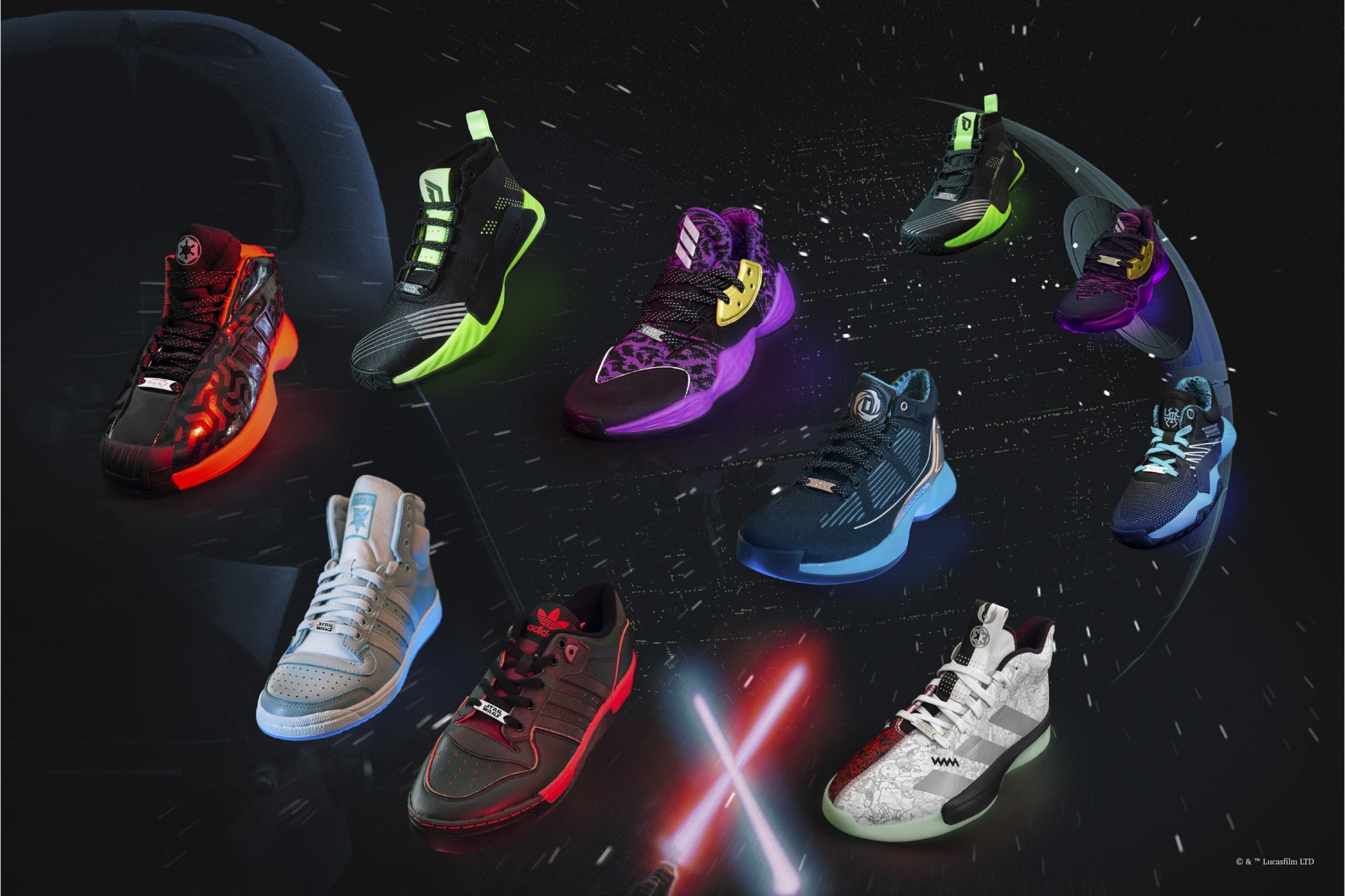 Adidas Star Wars Sneaker Collection