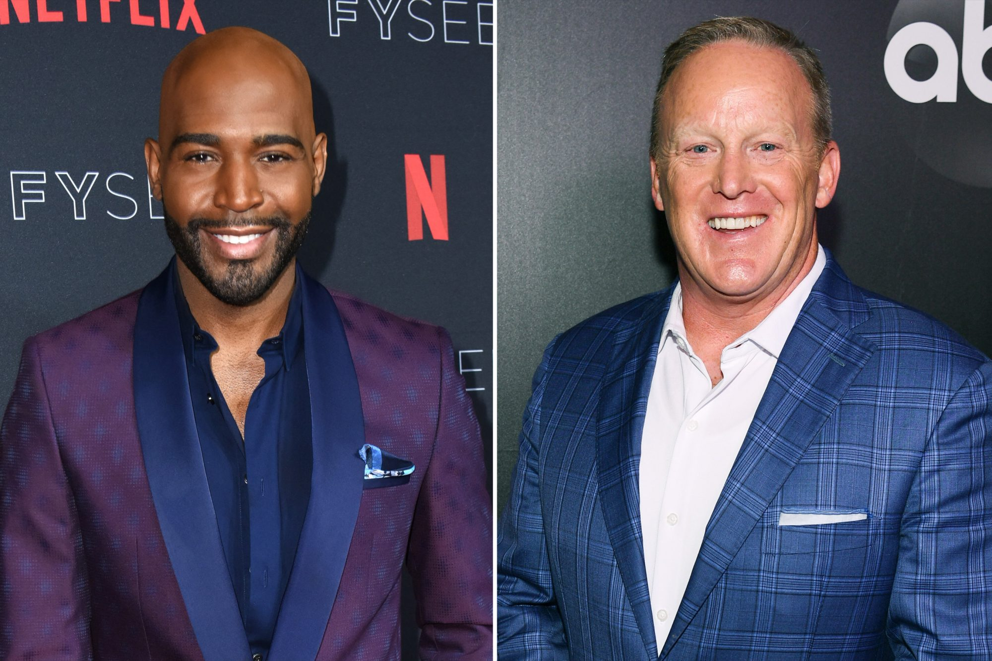 Karamo Brown; Sean Spicer