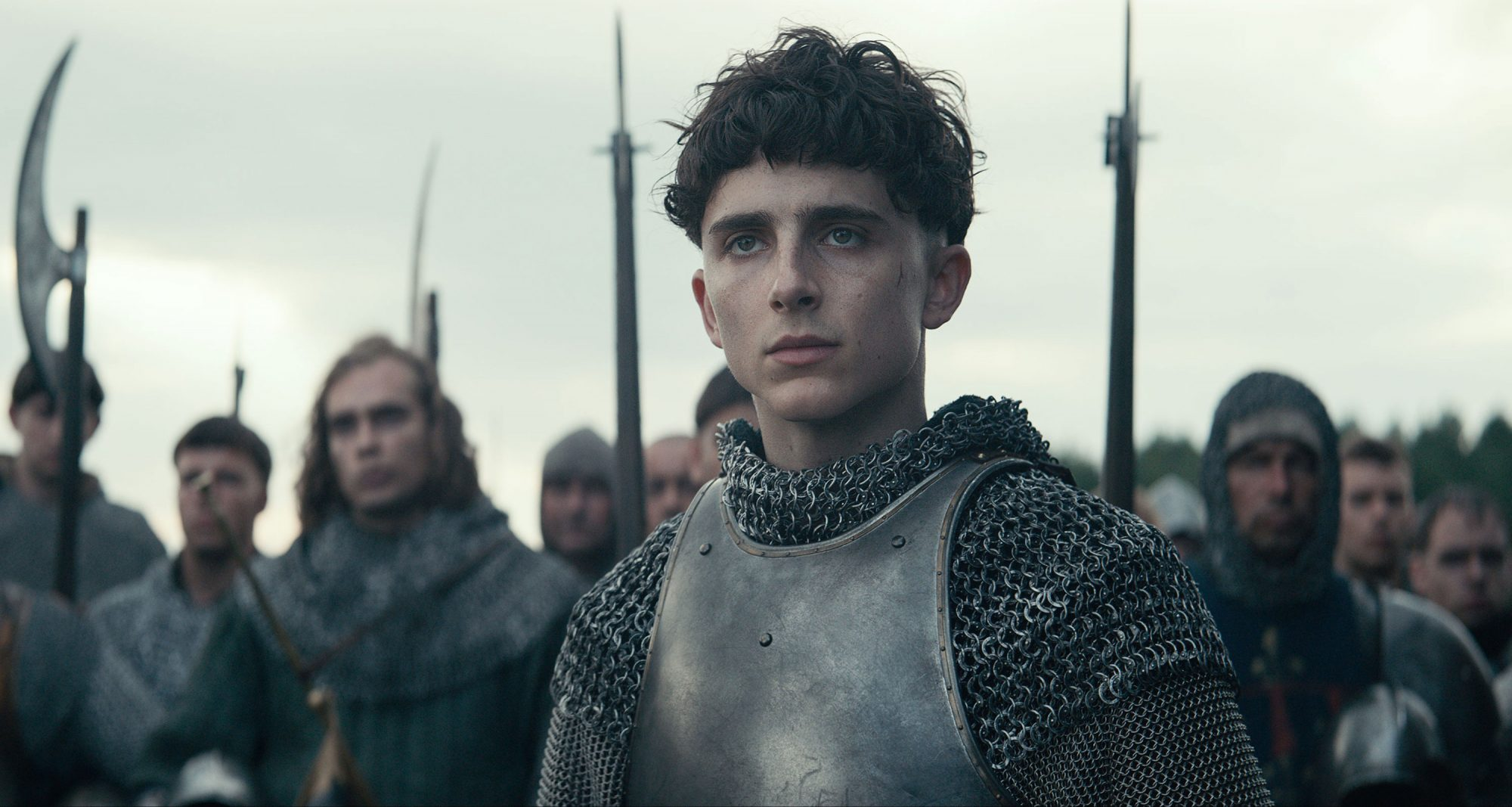 Timothée Chalamet in The King (2019)