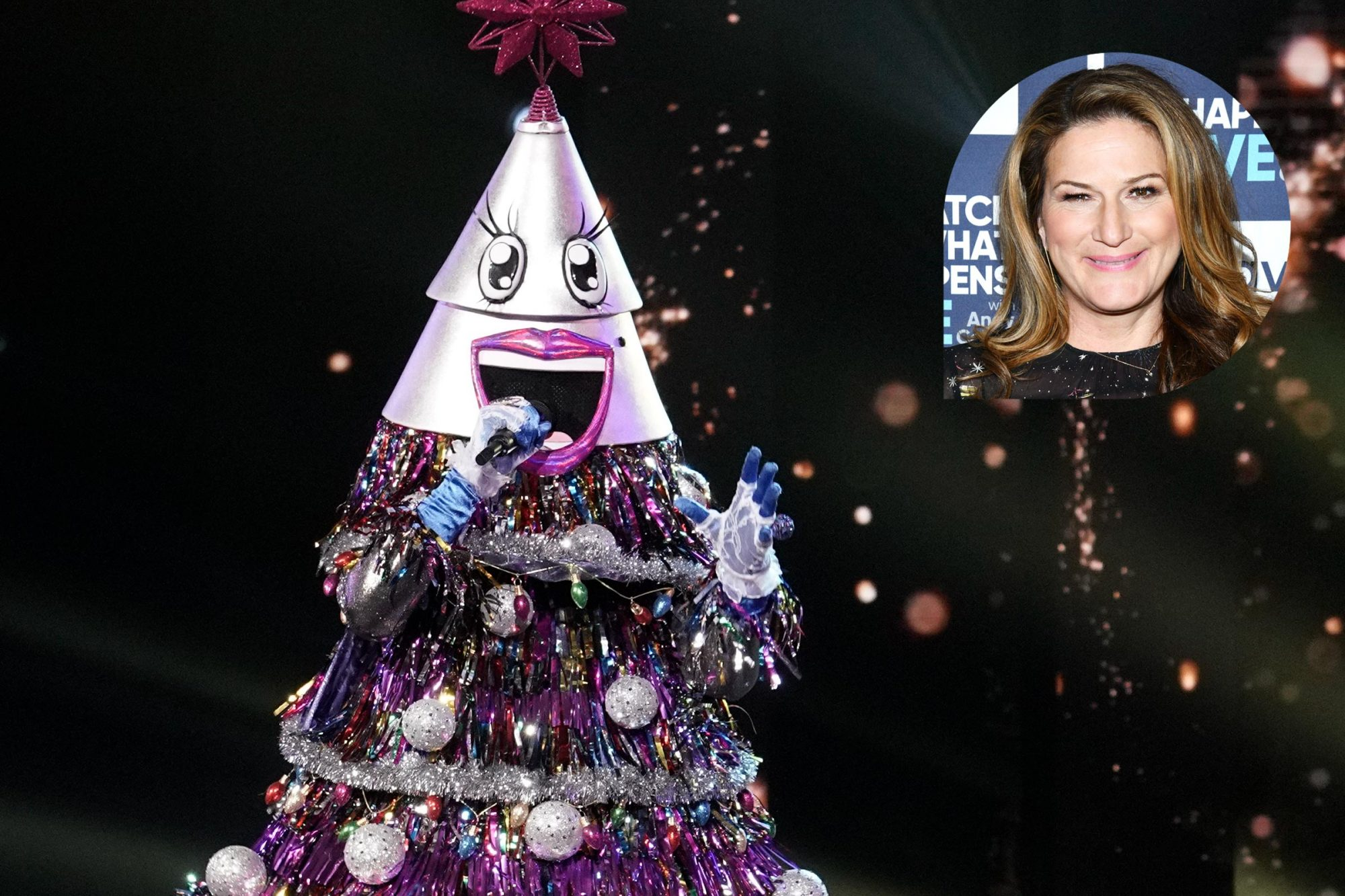 Is Ana Gasteyer The Tree On The Masked Singer We Asked Her Ew Com