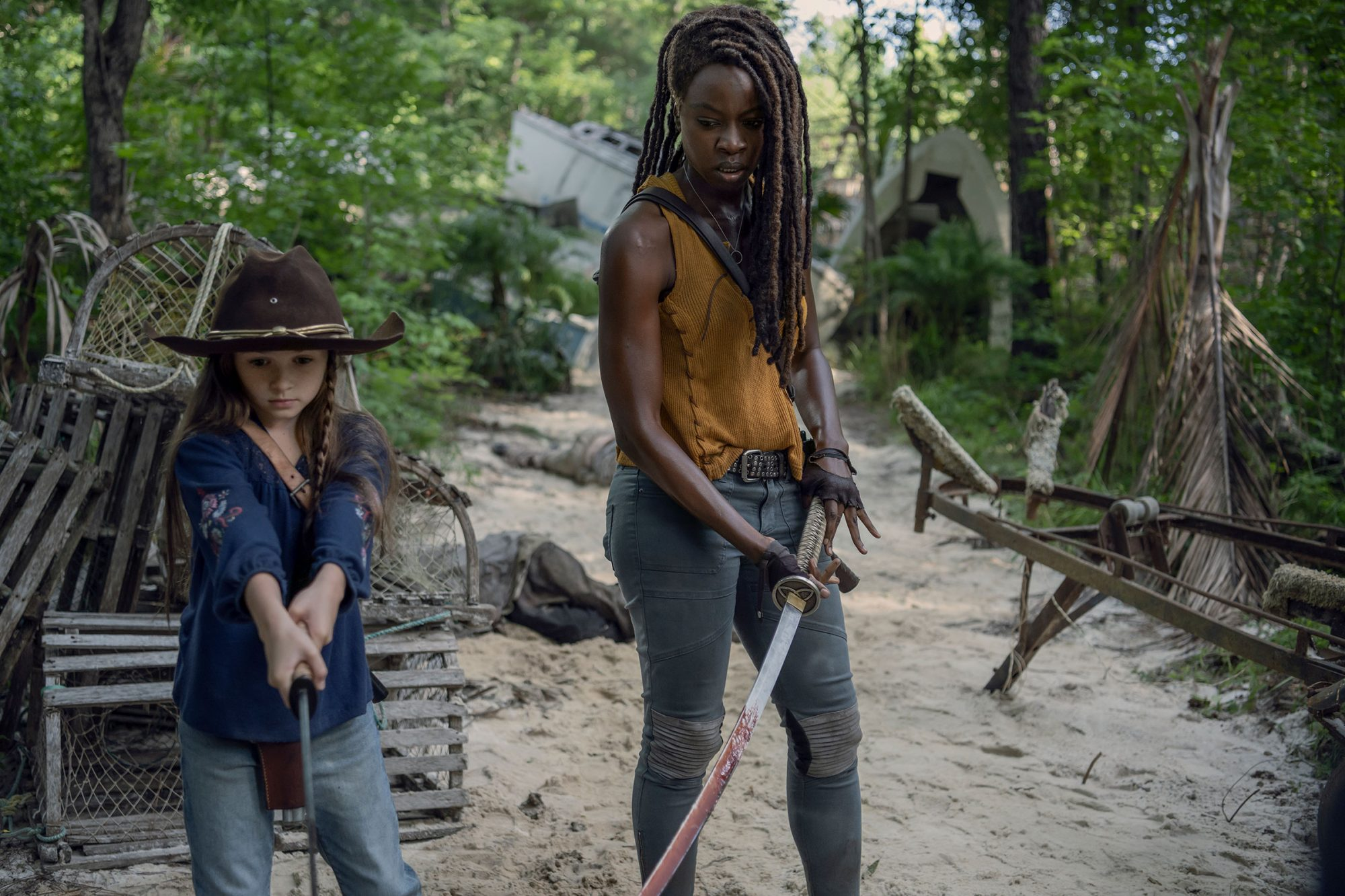 walking dead season 10 michonnes mission