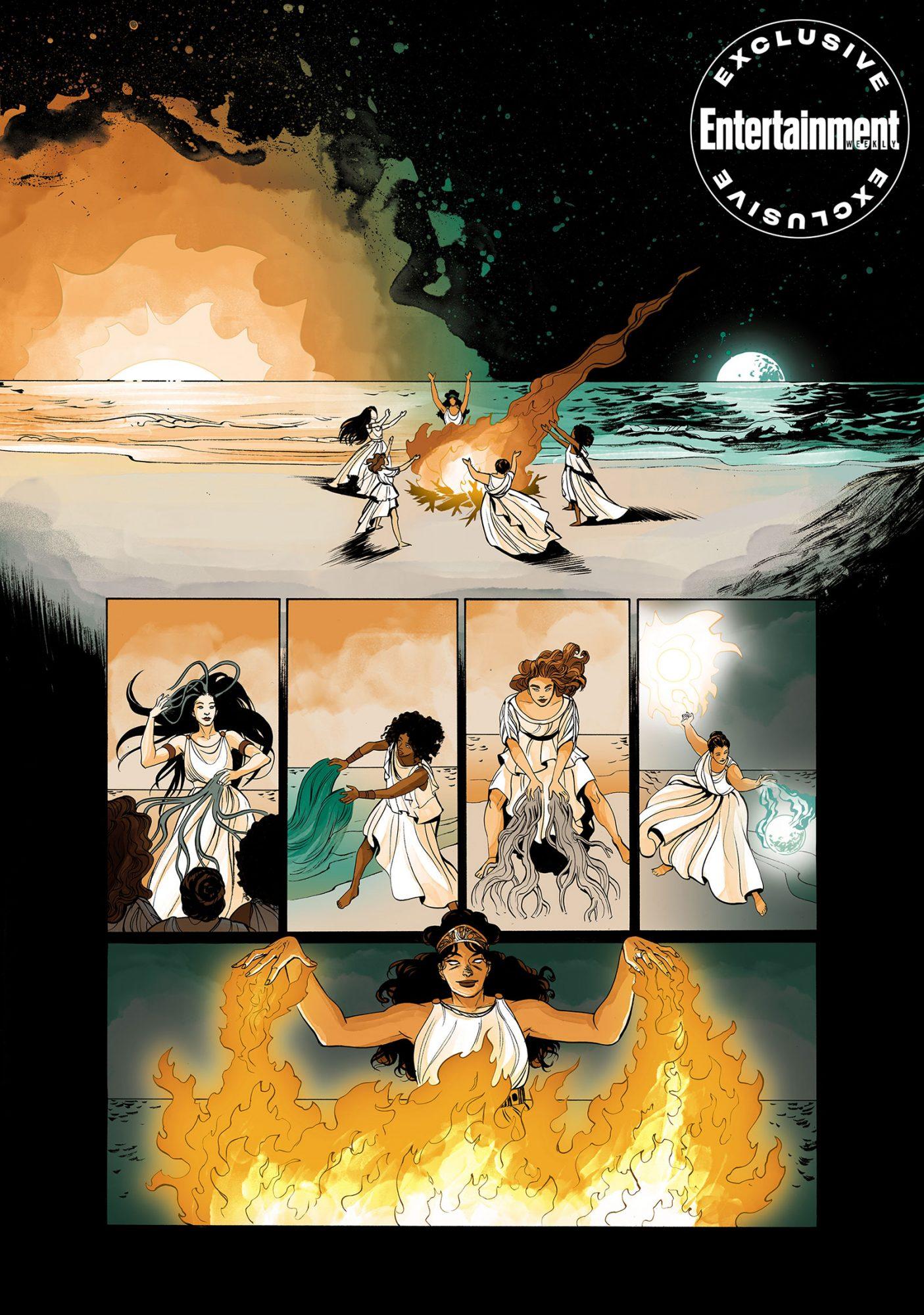 Wonder Woman: Tempest TossedCR: DC Comics