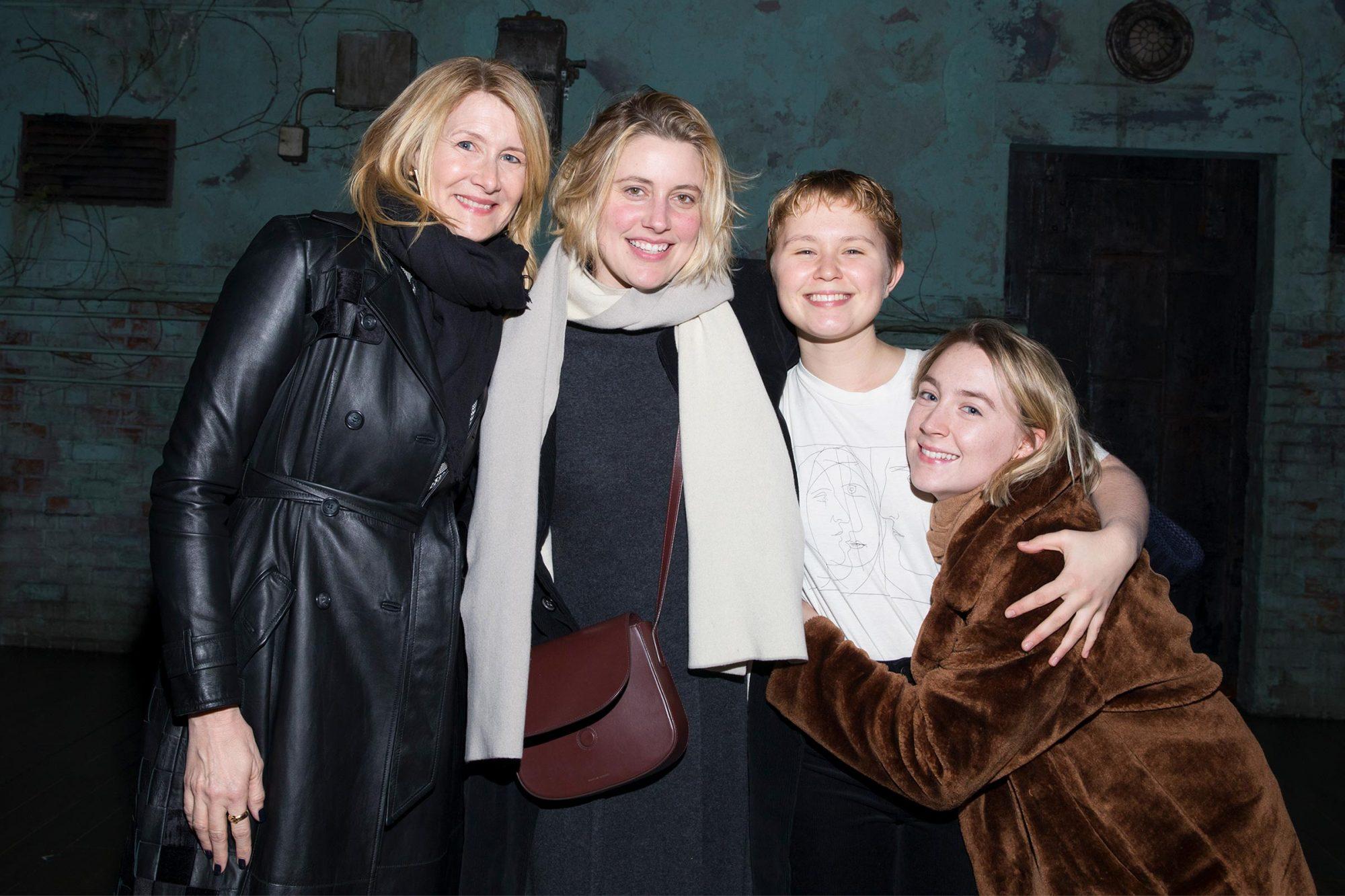 Laura Dern, Greta Gerwig, Eliza Scanlen and Saoirse Ronan