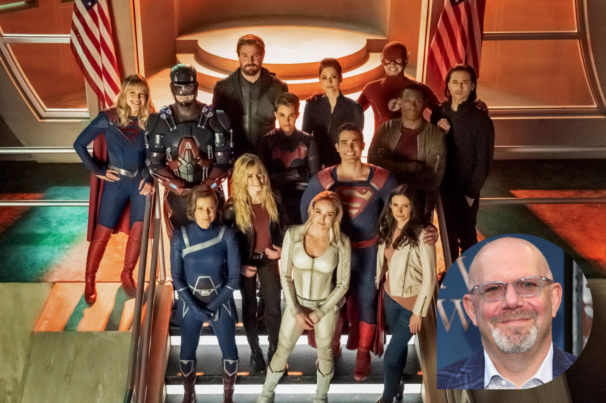 Crisis On Infinite Earths; Marc Guggenheim
