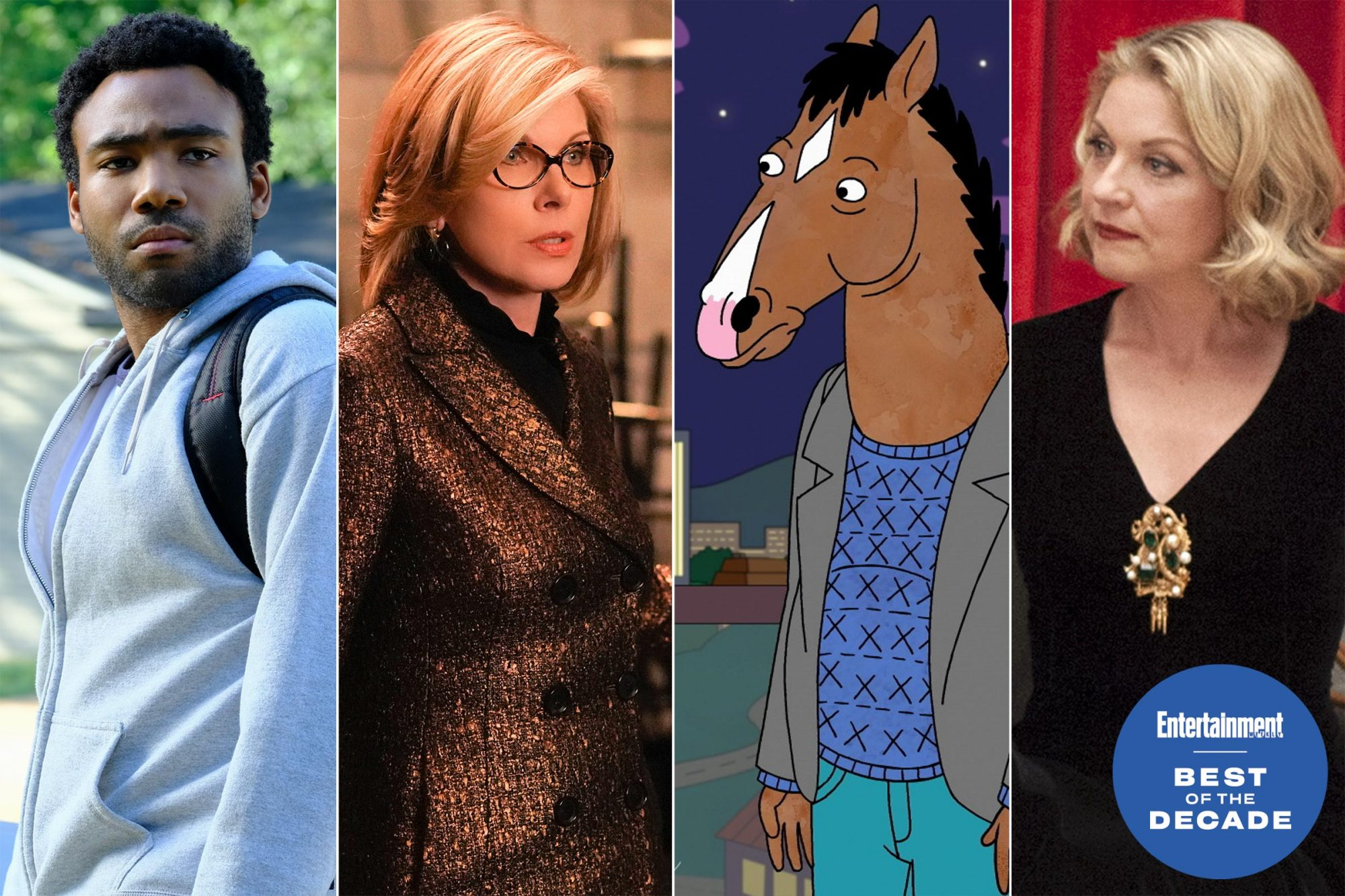 Atlanta / The Good Fight / Bojack Horseman / Twin Peaks