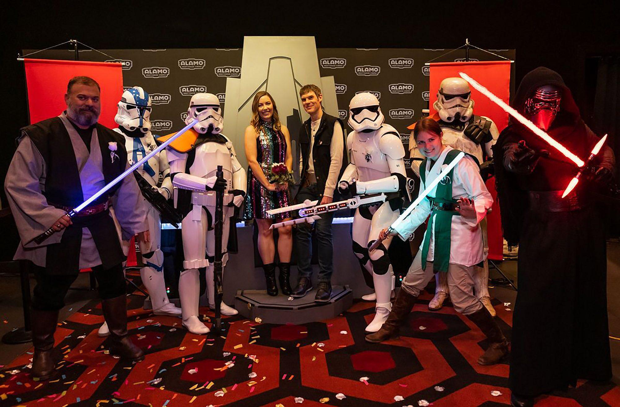 Skywalker Alamo WeddingPhoto Credit: Erika Rich