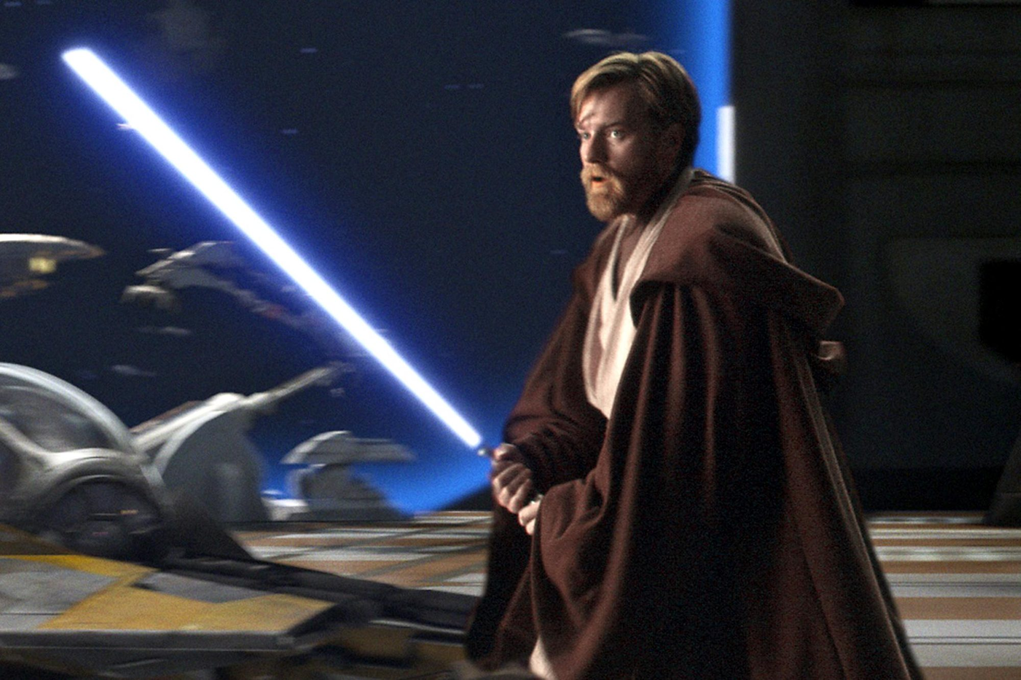 George Lucas Cut The Best Star Wars Lightsaber Fight From The Prequels Ew Com