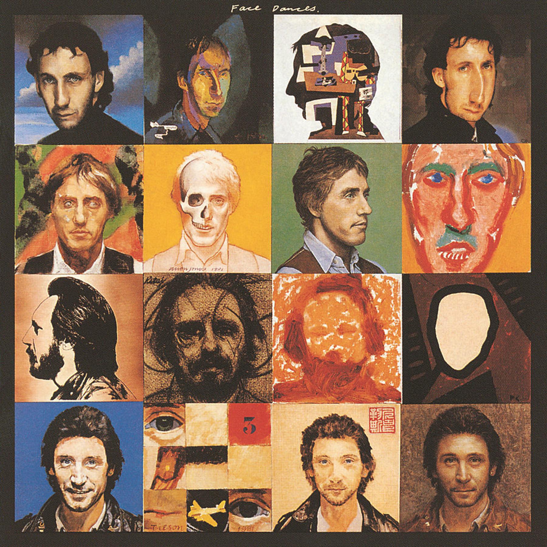 Faces Dances (1981) Album Artwork