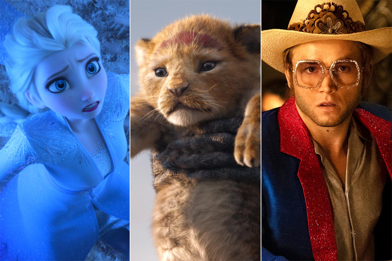Frozen 2 / Lion King / Rocketman